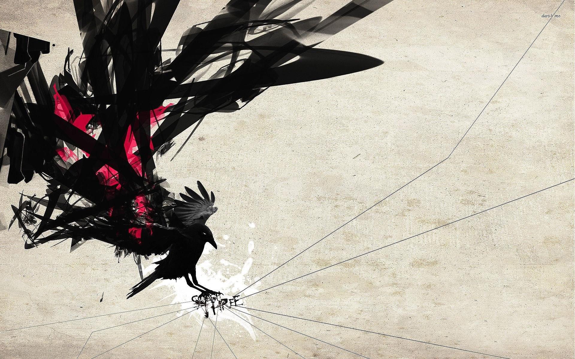 Stylized Crow