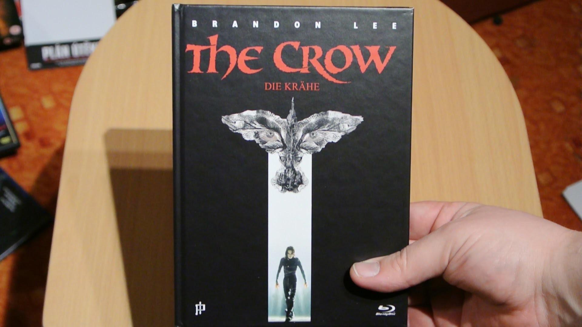 THE CROW (Die Krähe) Mediabook Blu-Ray Inked Pictures Brandon Lee Unboxing