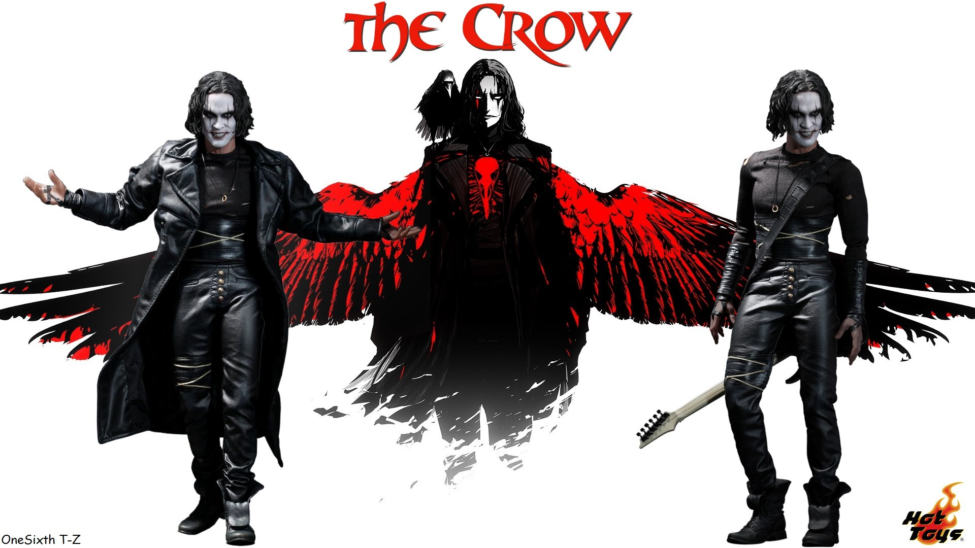 the crow hd wallpaper by onesixth t z hot toys the crow hd wallpaper .