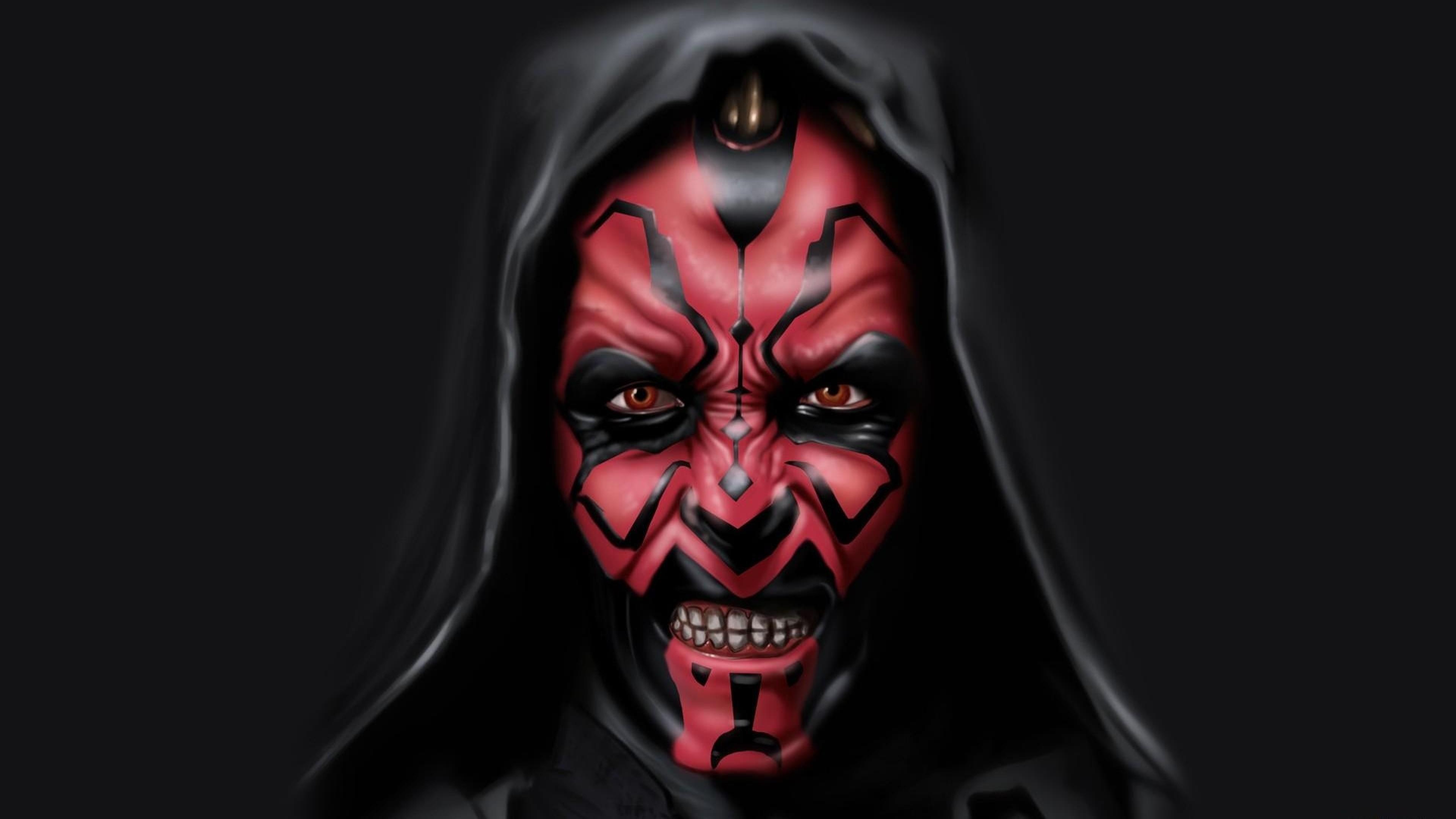 Preview wallpaper sith, star wars, darth maul, dark side 3840×2160