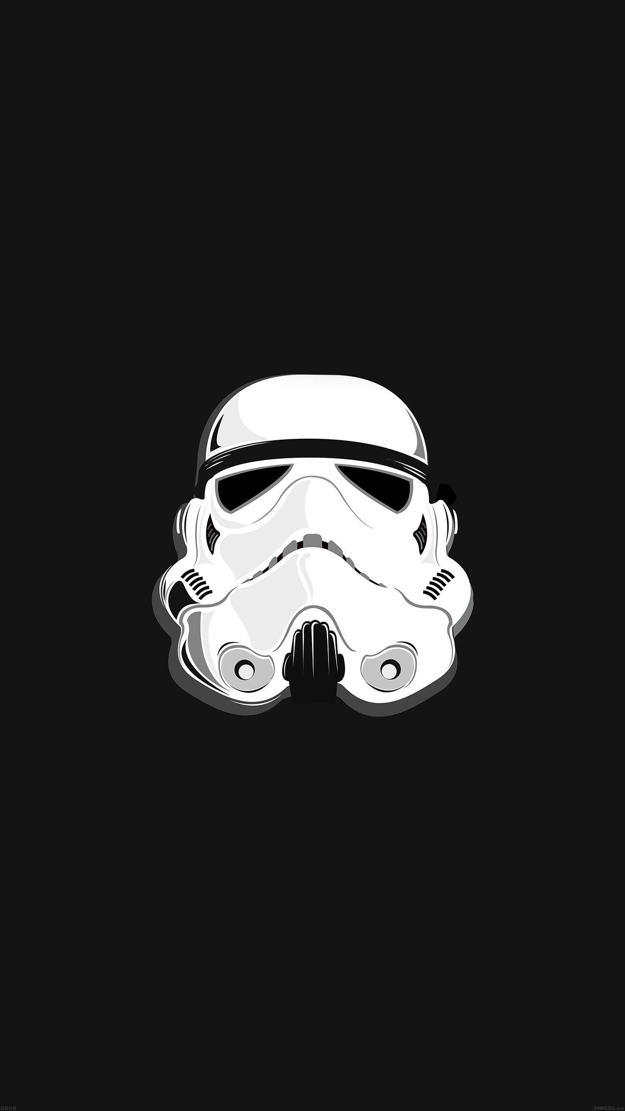 Download Star Wars Stormtrooper Illustration iPhone 6 Plus HD Wallpaper