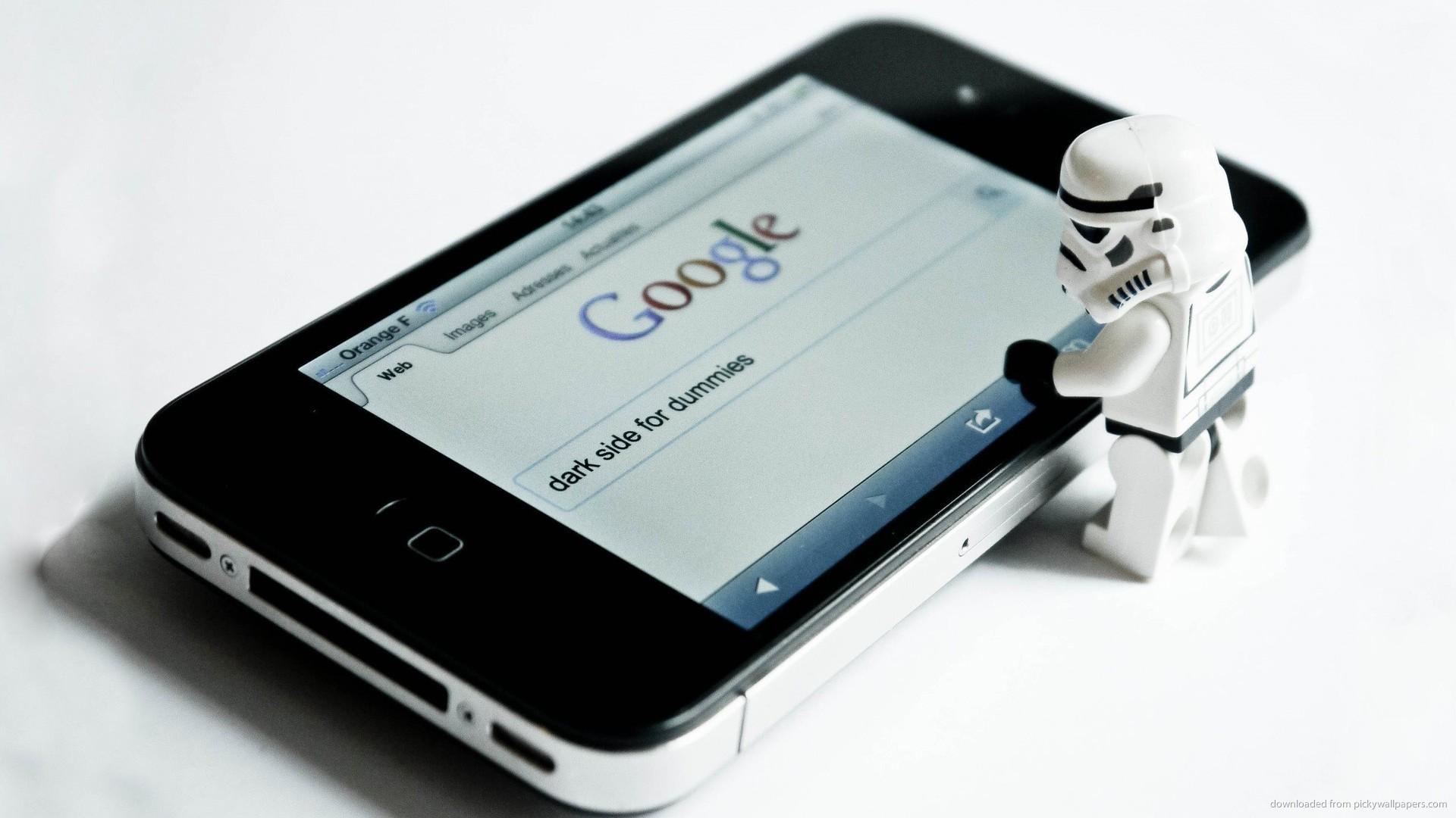 HD Stormtrooper Googling Dark Side For Dummies wallpaper
