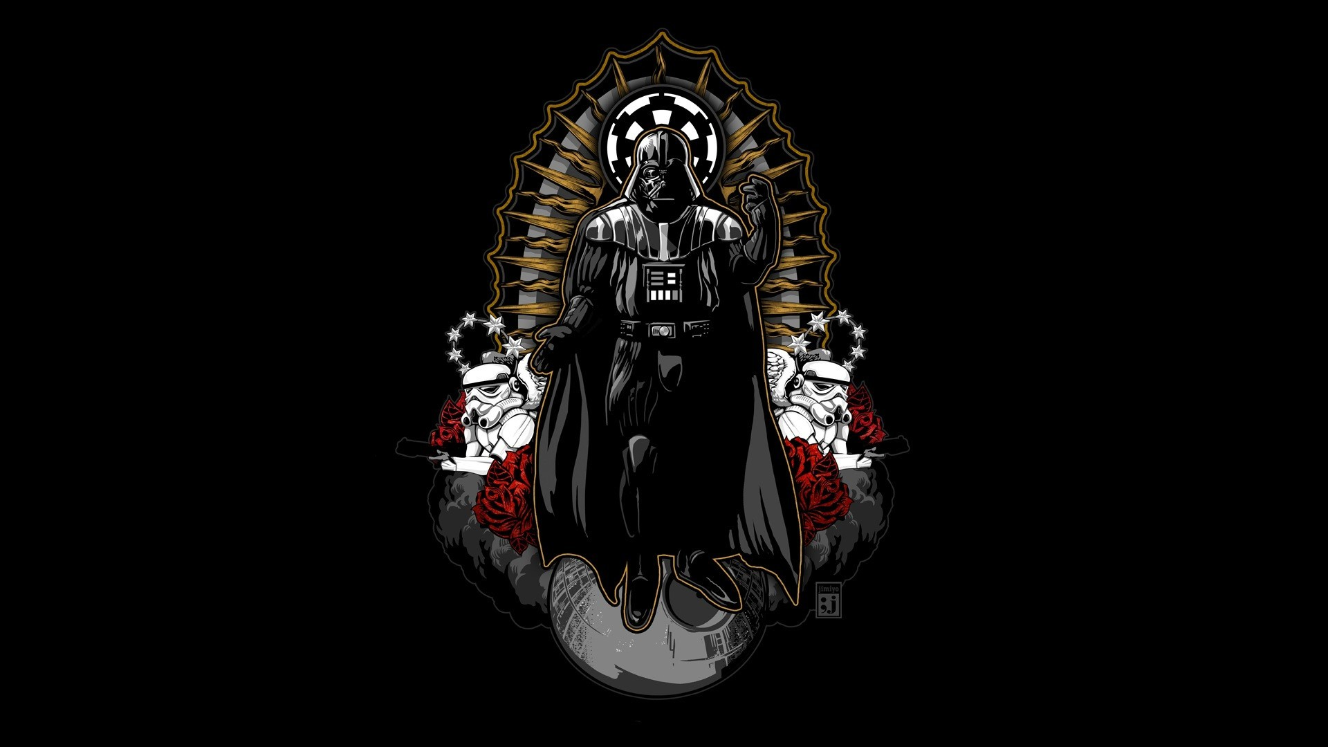 Sci Fi – Star Wars Darth Vader Stormtrooper Wallpaper