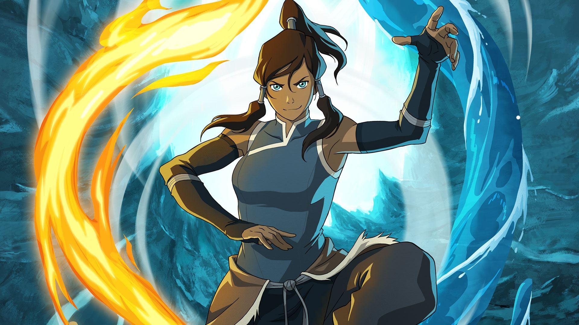 Wallpaper the legend of korra, avatar legend of the corre, girl,  magician