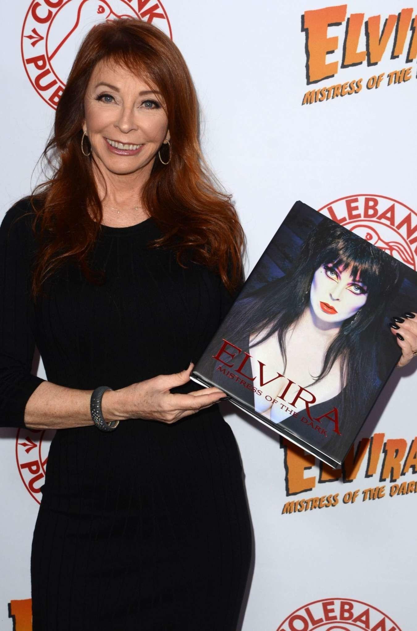 Cassandra Peterson: Elvira Mistress Of The Dark – Book Launch Party In LA