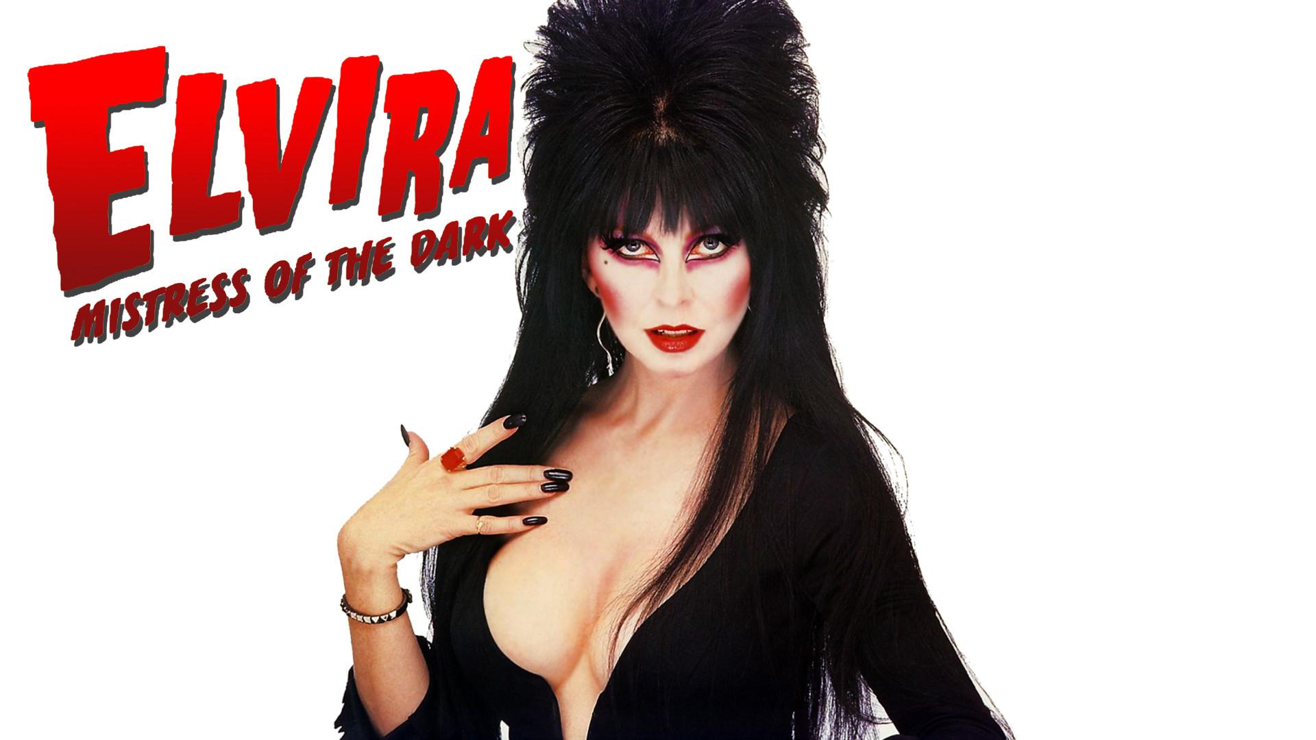 8 Fanarts / Wallpapers. Elvira, Mistress of the Dark