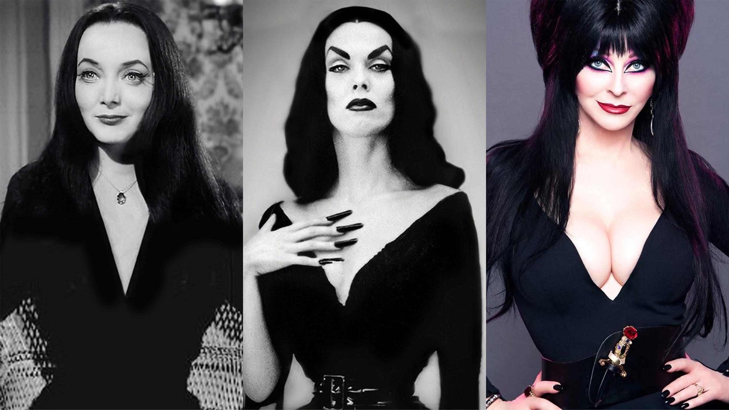 ELVIRA Mistress of the Dark. One of my favorite ghouls never seems to age,  ever. (please follow minkshmink on pinterest) #elvira #halloween   Pinterest