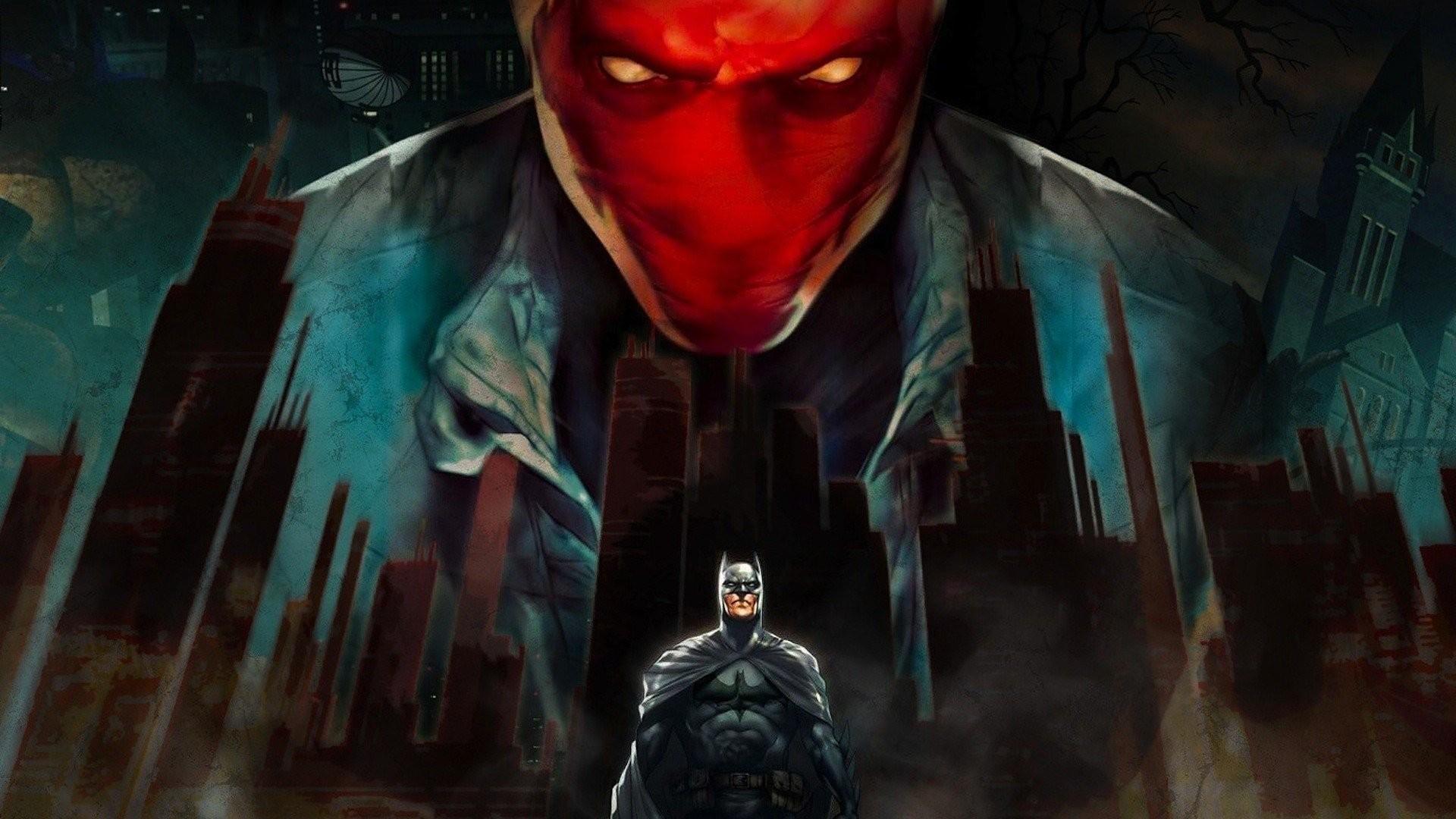 Batman Comics Red Hood Robin Superhero · HD Wallpaper | Background ID:216802