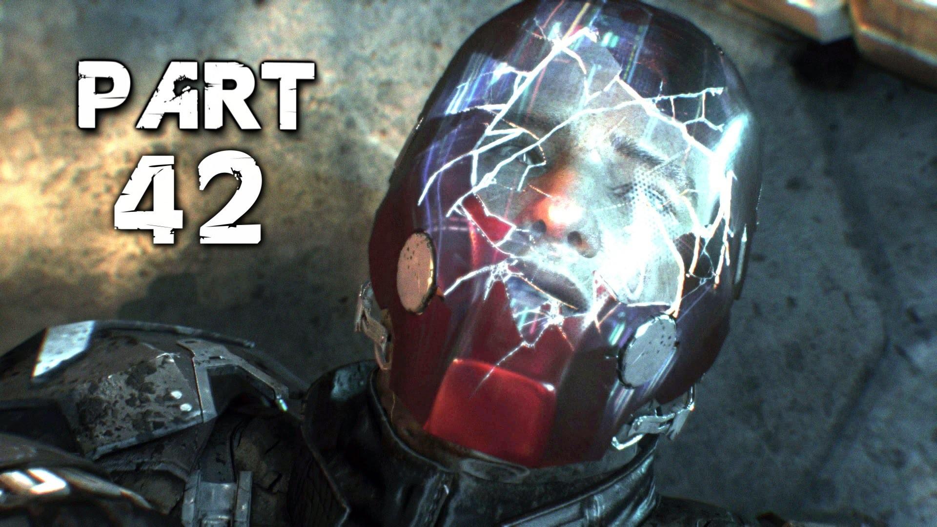 Batman Arkham Knight Walkthrough Gameplay Part 42 – Under the Red Hood  (PS4) – YouTube