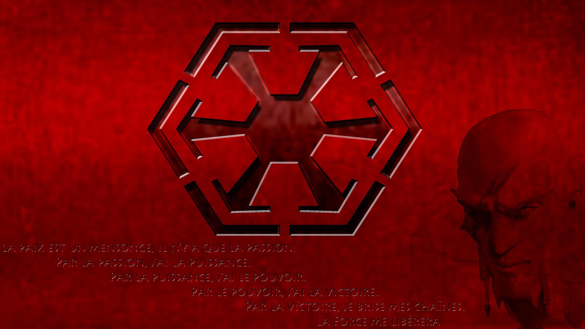 … Fond Ecran Sith Code by schlacvuck