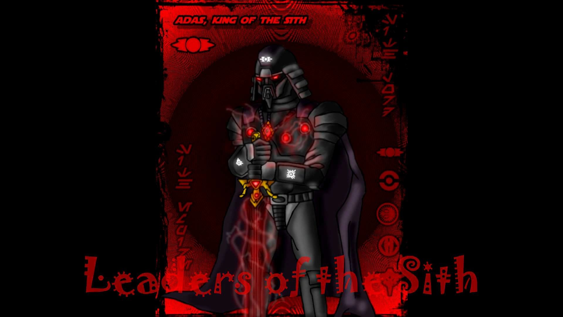 Leaders of the Sith and The Sith Code