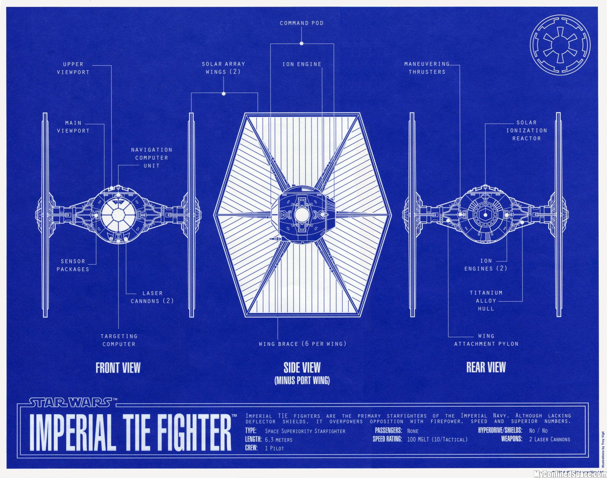 Movie Star Wars Tie Fighter Wallpaper