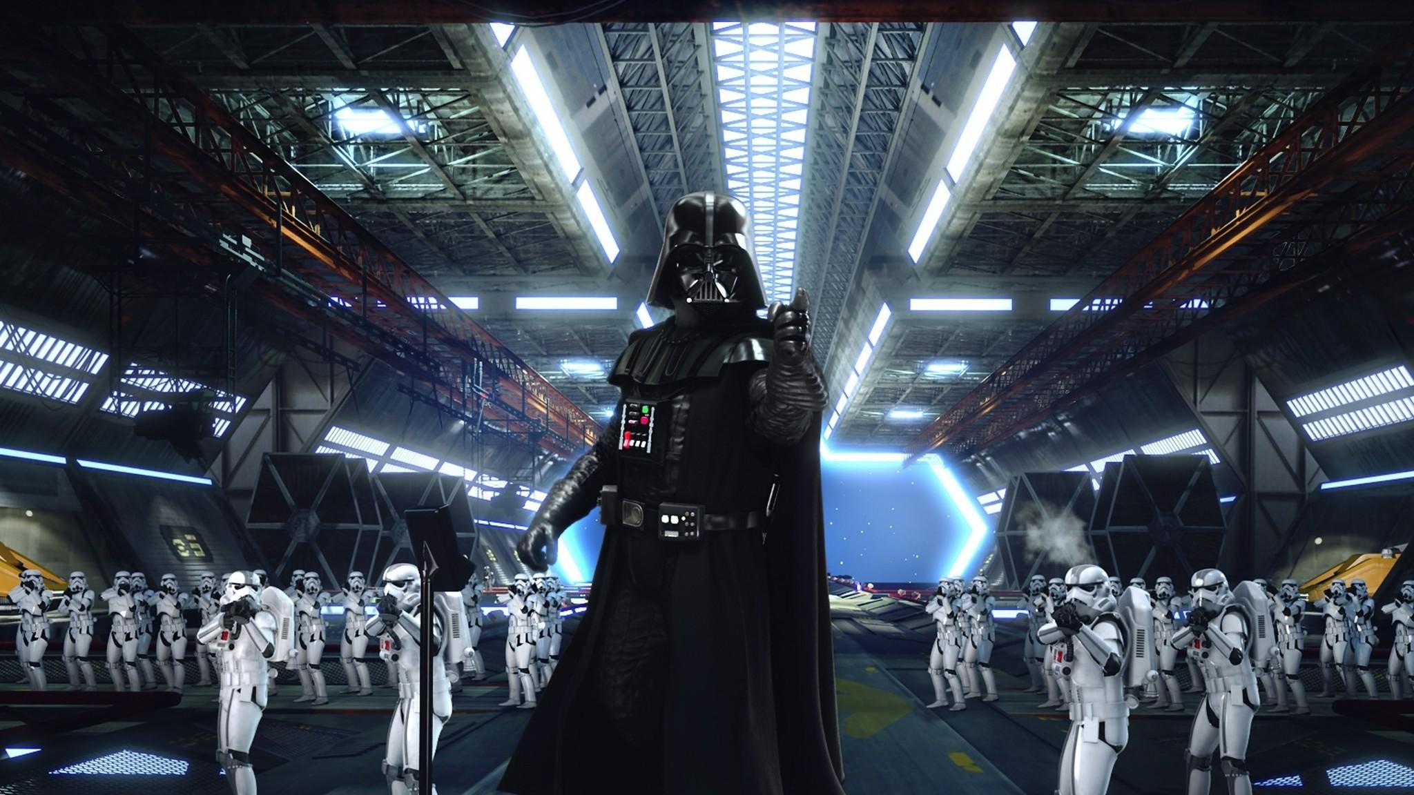 Description: Download Star wars movies stormtroopers darth vader tie  fighters wallpaper/desktop background in HD & Widescreen  resolution.