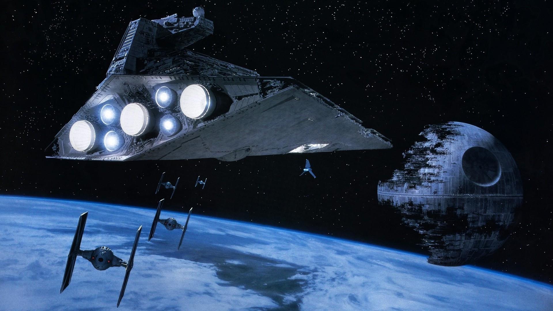 Star Wars, Star Destroyer, TIE Fighter, Death Star Wallpapers HD / Desktop  and Mobile Backgrounds