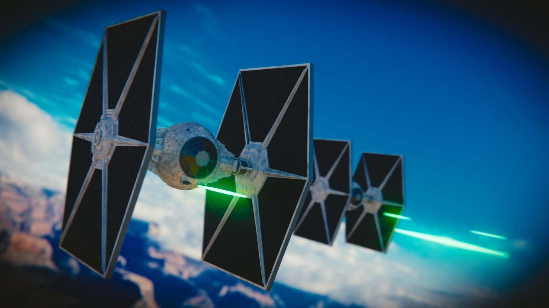 Star Wars: Tie Fighters by silveralv on DeviantArt