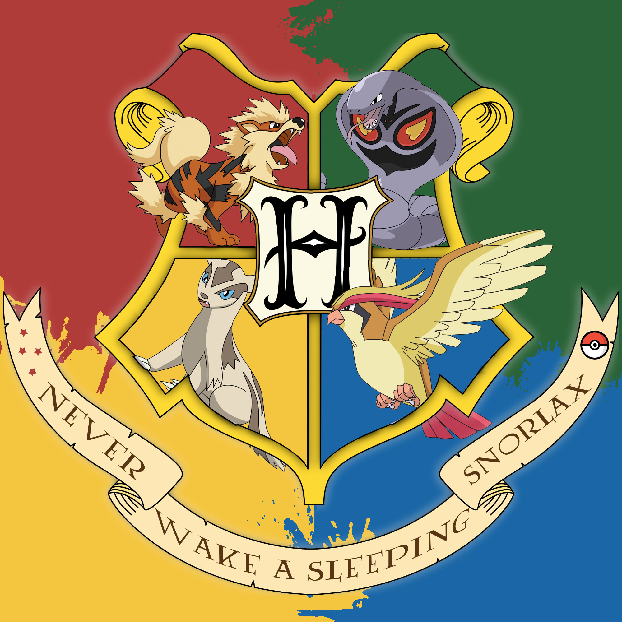 I made this for all the Pokémon & Harry Potter fans out there!