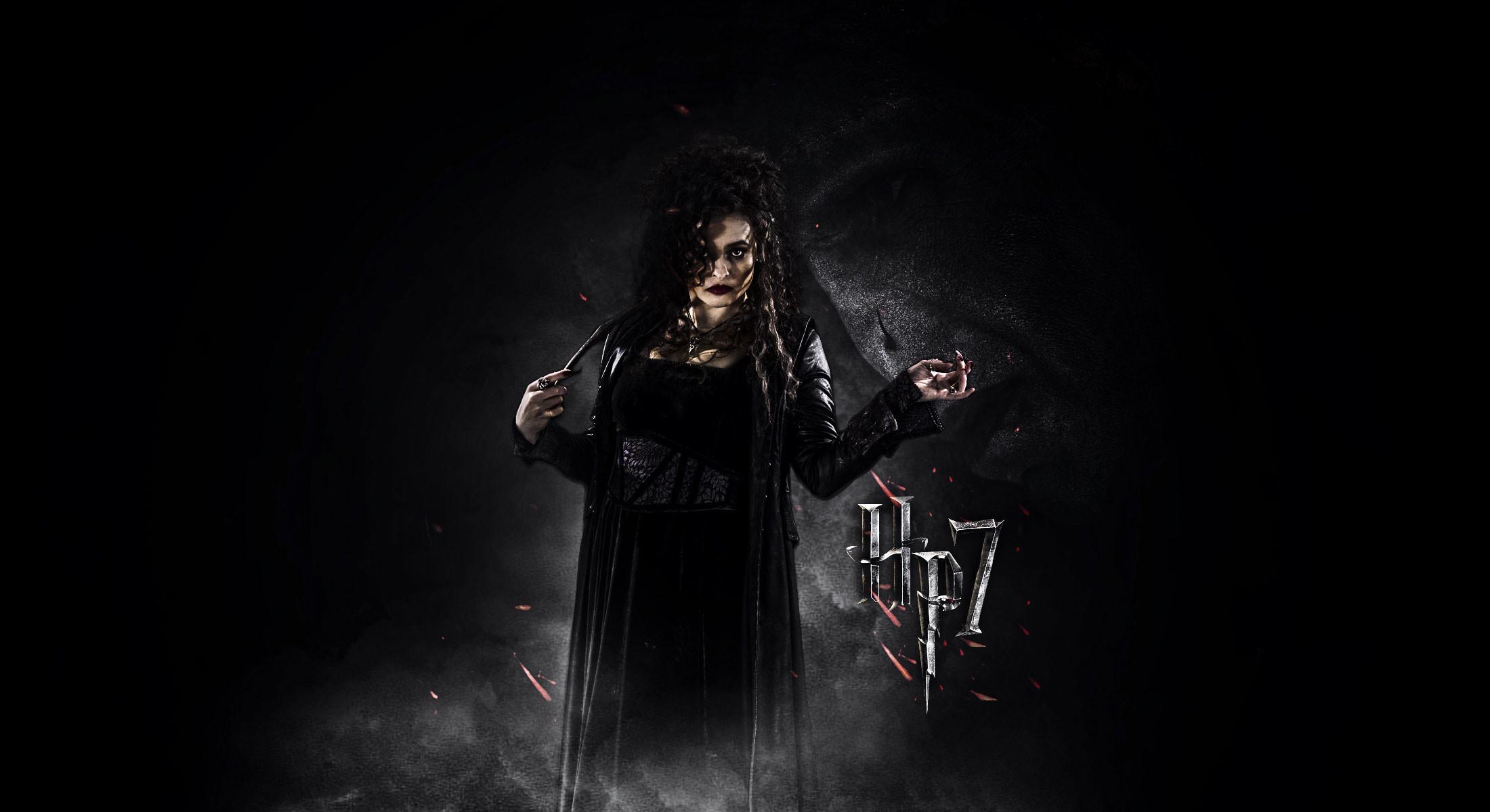 Harry Potter DH – Bellatrix Lestrange wallpaper