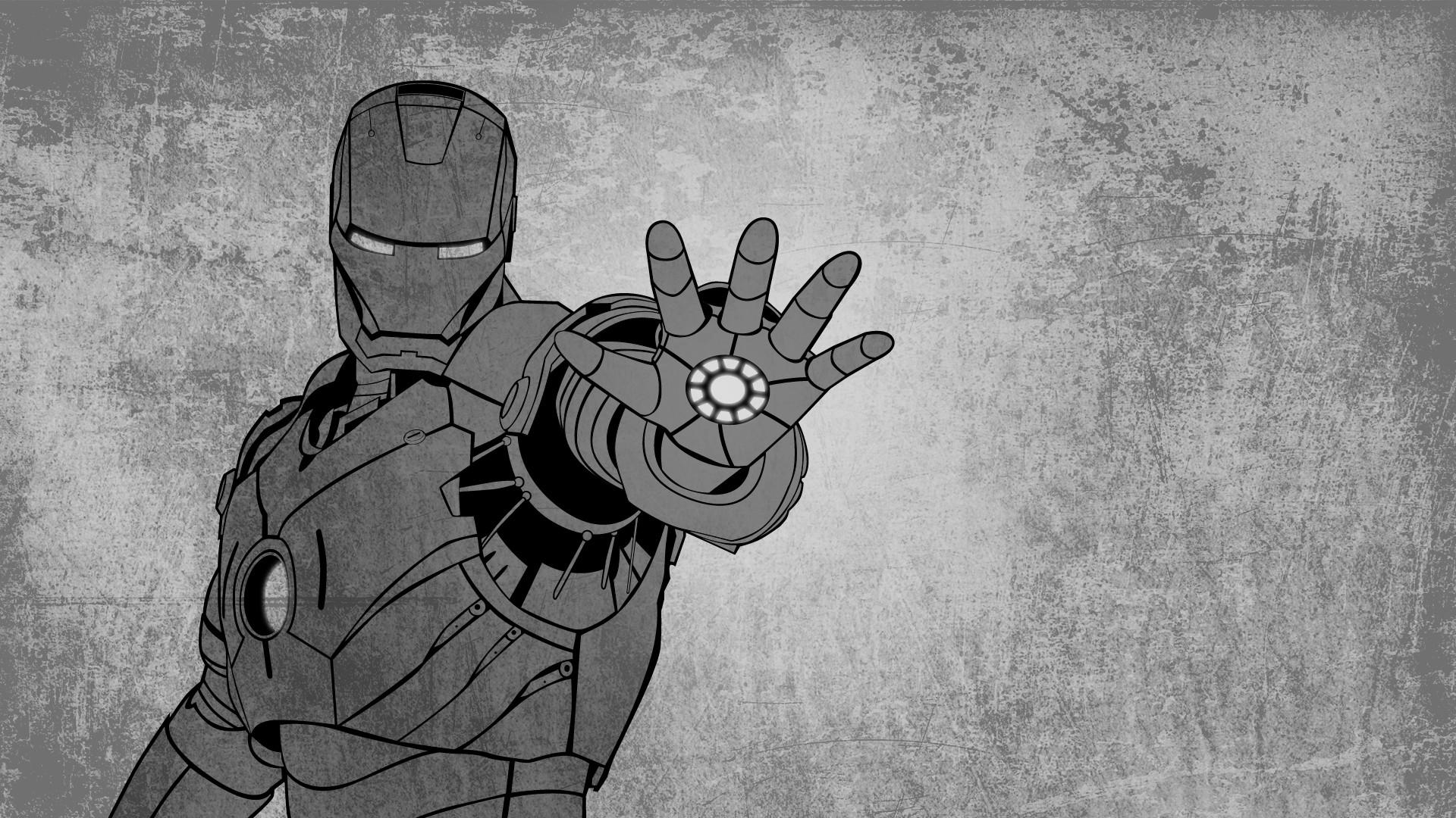 Iron Man Grunge Artwork