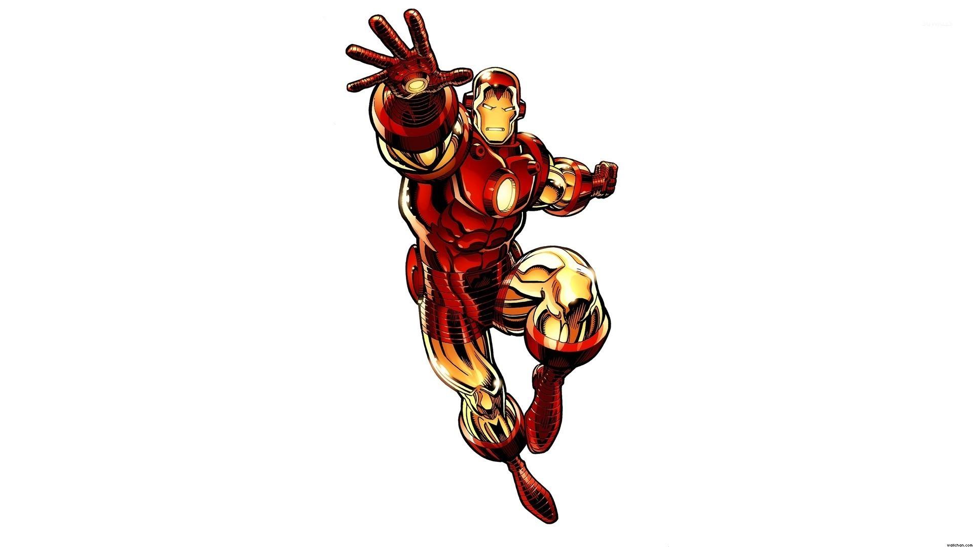 Iron Man fighting wallpaper jpg