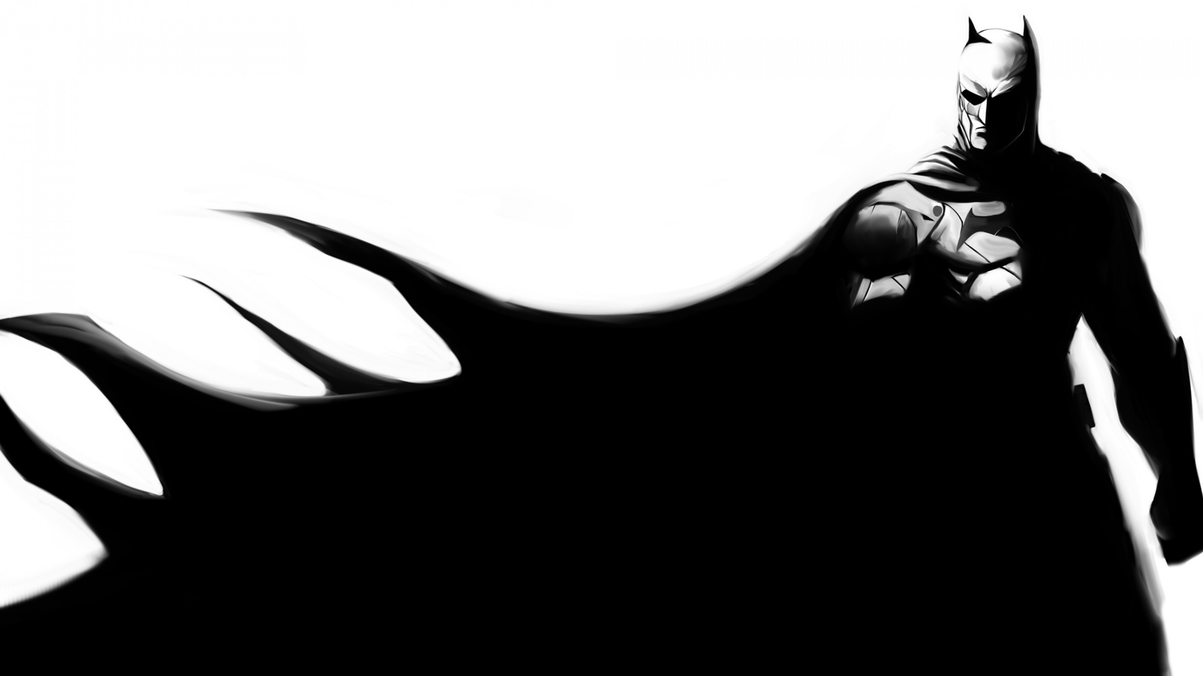 Wallpaper batman, bruce wayne, art, black, superhero