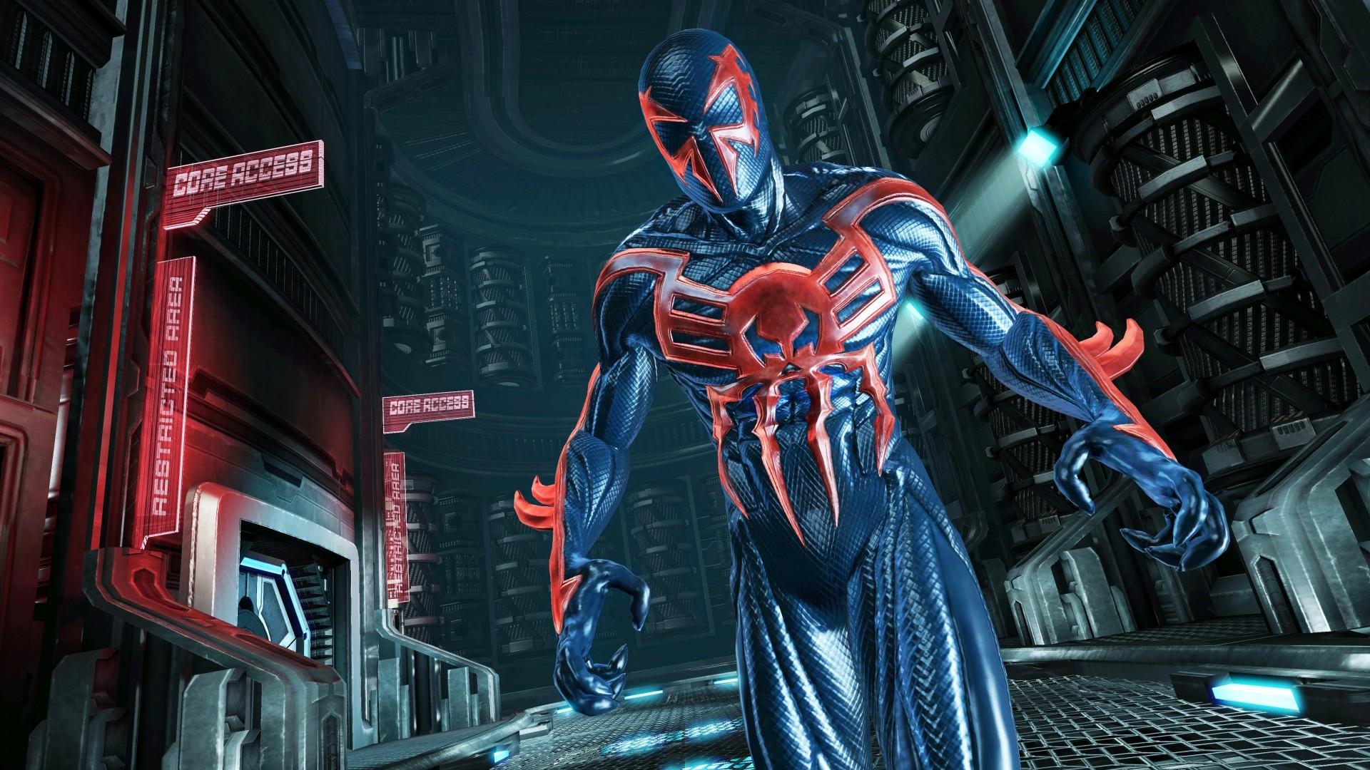 Wallpaper spiderman, edge of time, superhero