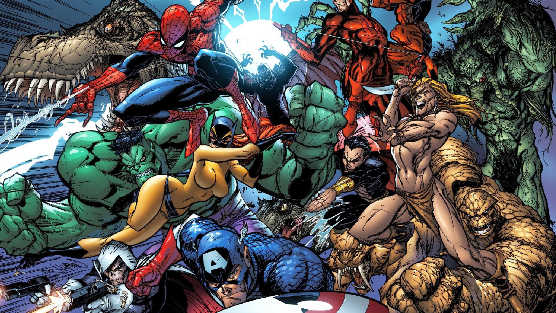 Marvel superheroes wallpaper #4879