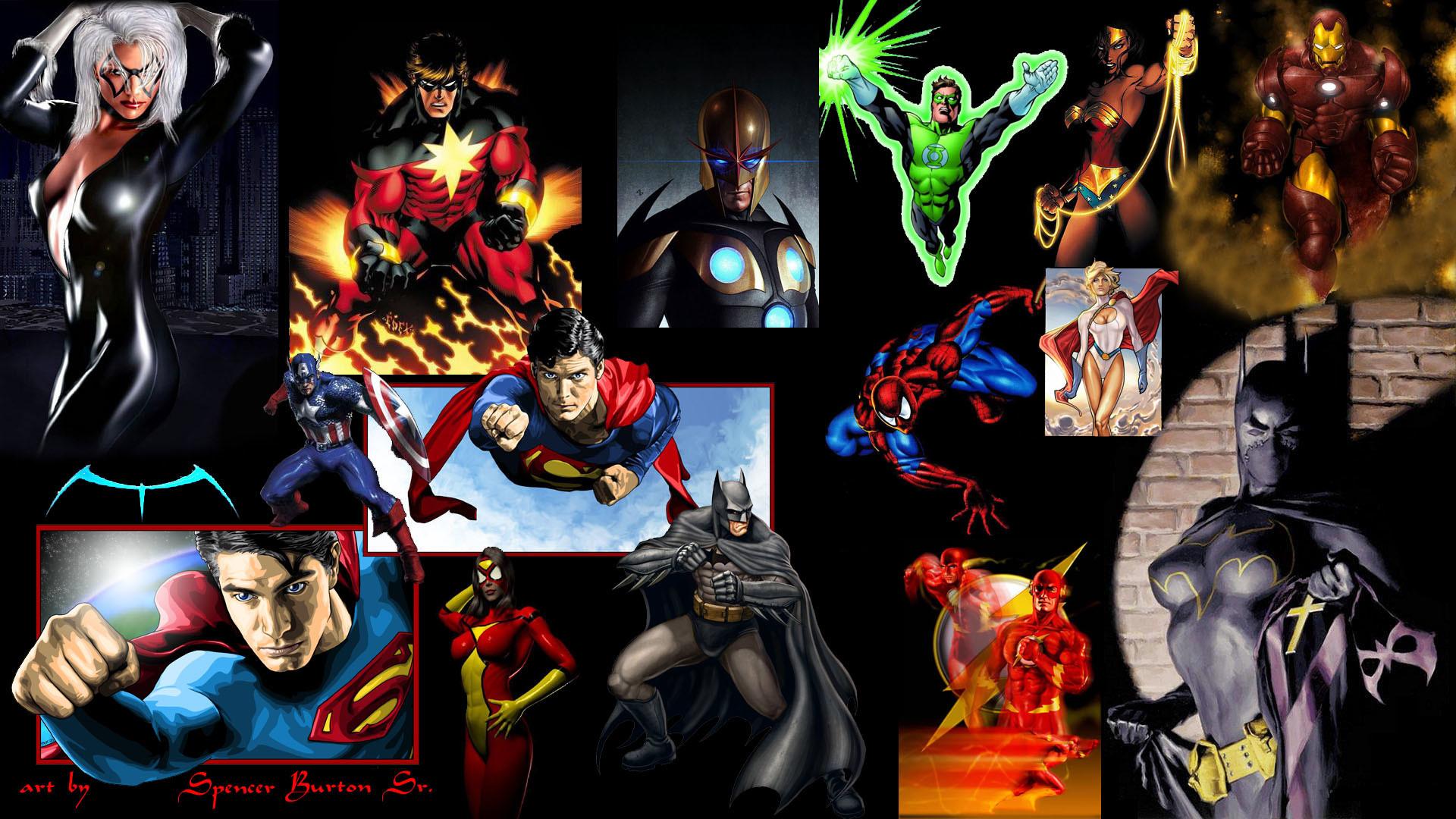 Marvel heroes hd wallpaper wallpapersafari