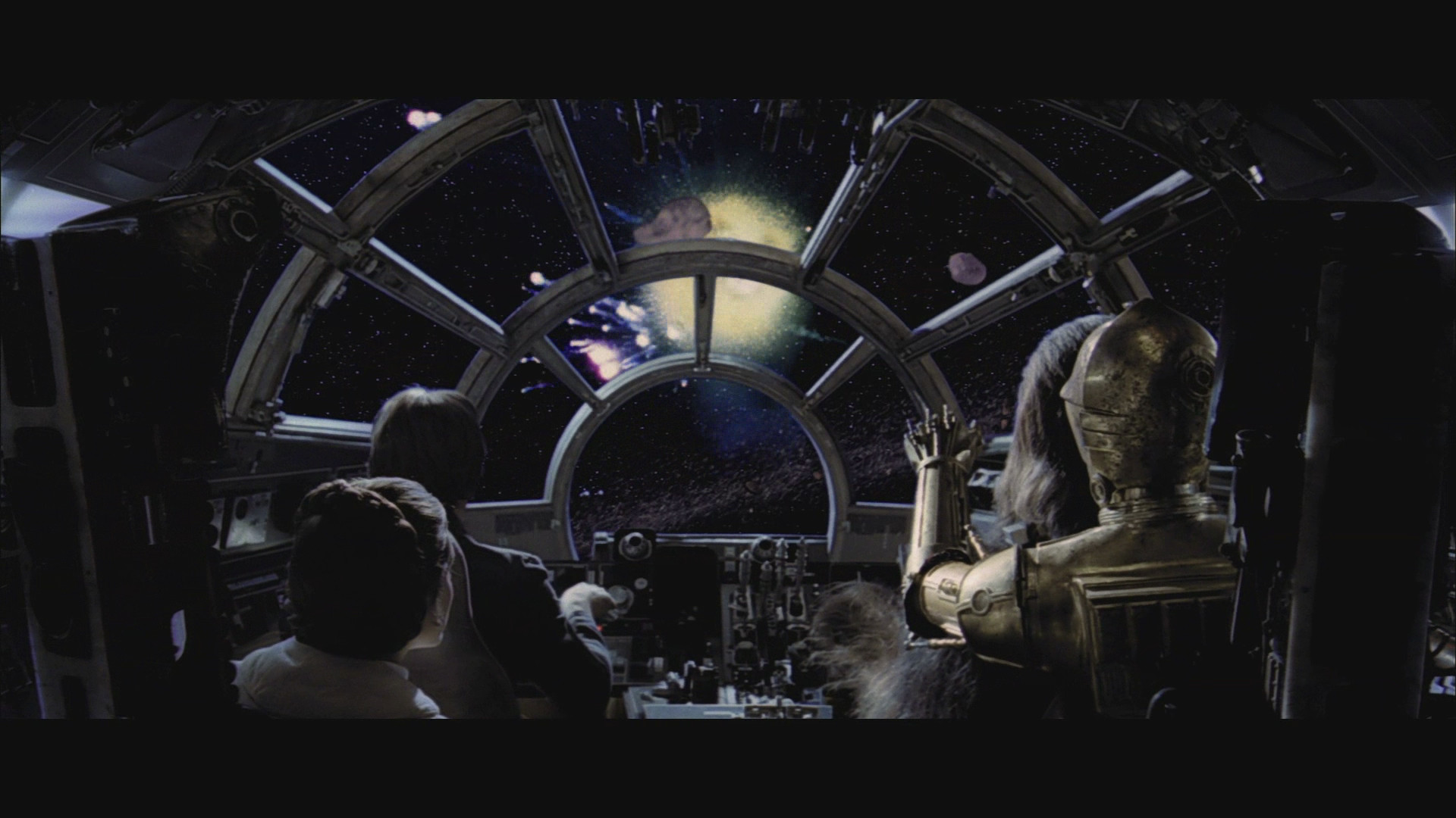 not actually going INTO an asteroid field are you?' a fab .