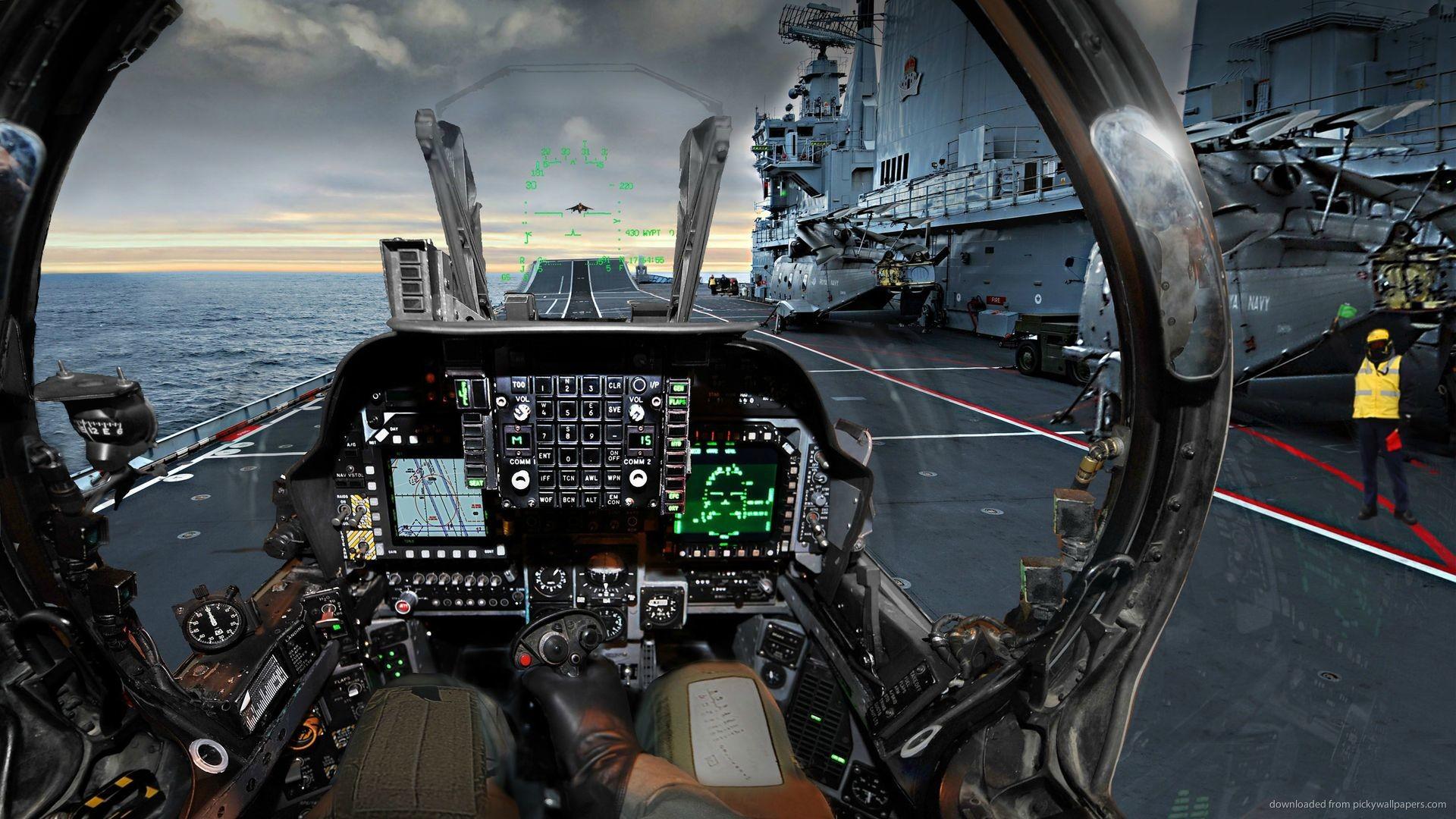 Airplane Cockpit Wallpaper HD 1920×1080