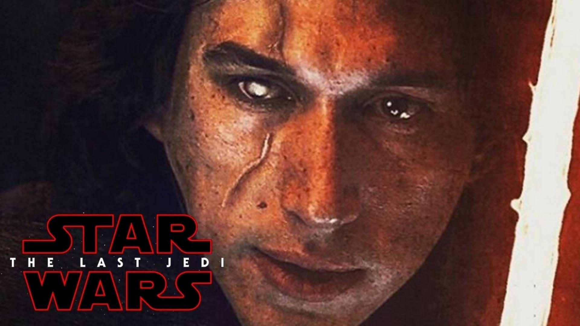 Download Star Wars The Last Jedi Kylo Ren Scar iPhone 7 Wallpapers HD
