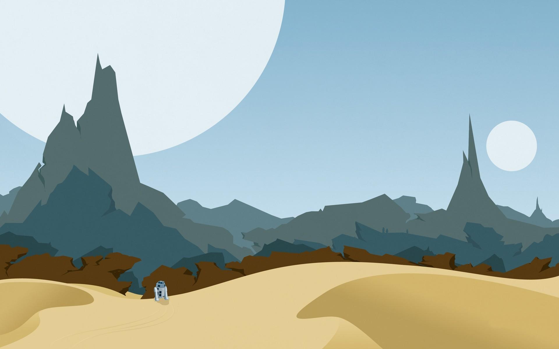 wallpaper R2-D2 · Star Wars