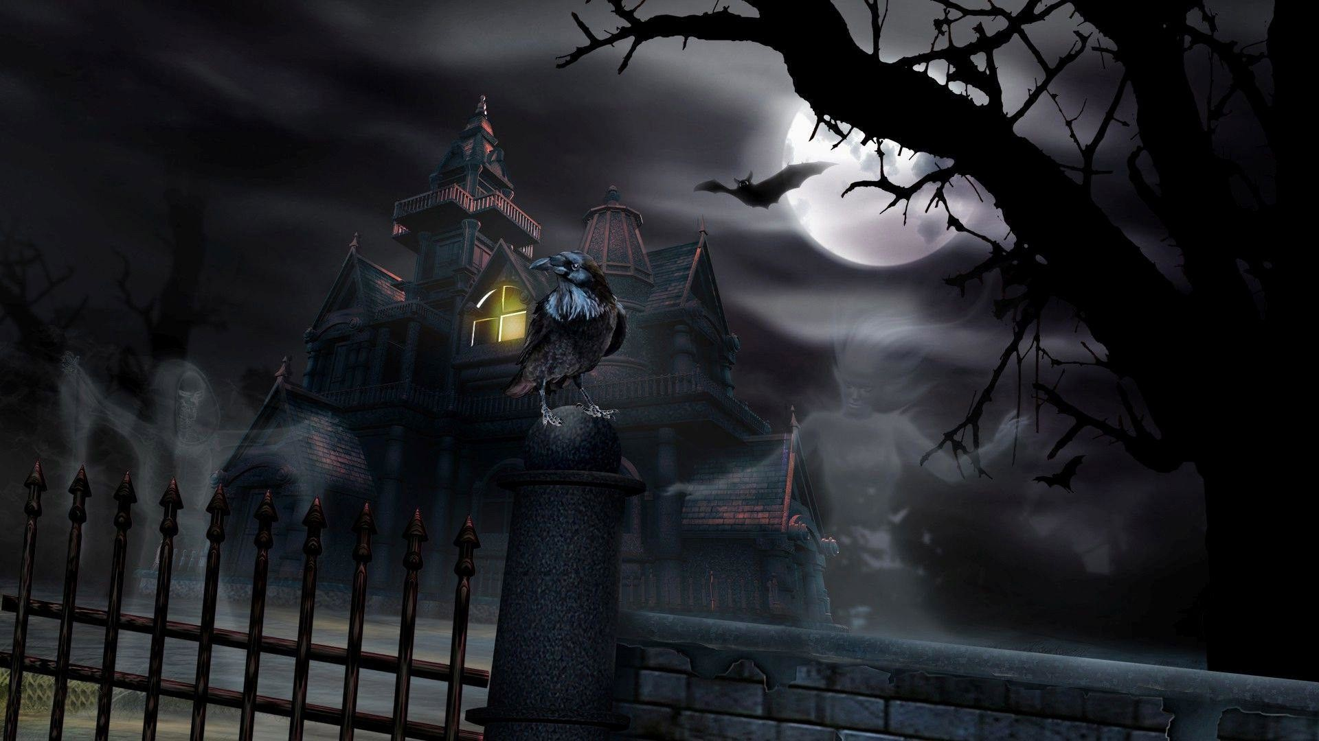 Haunted-House-Live-Download-Haunted-House-Live-wallpaper-