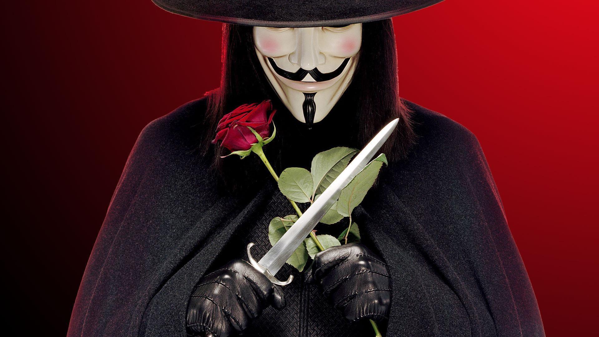 V For Vendetta download wallpaper