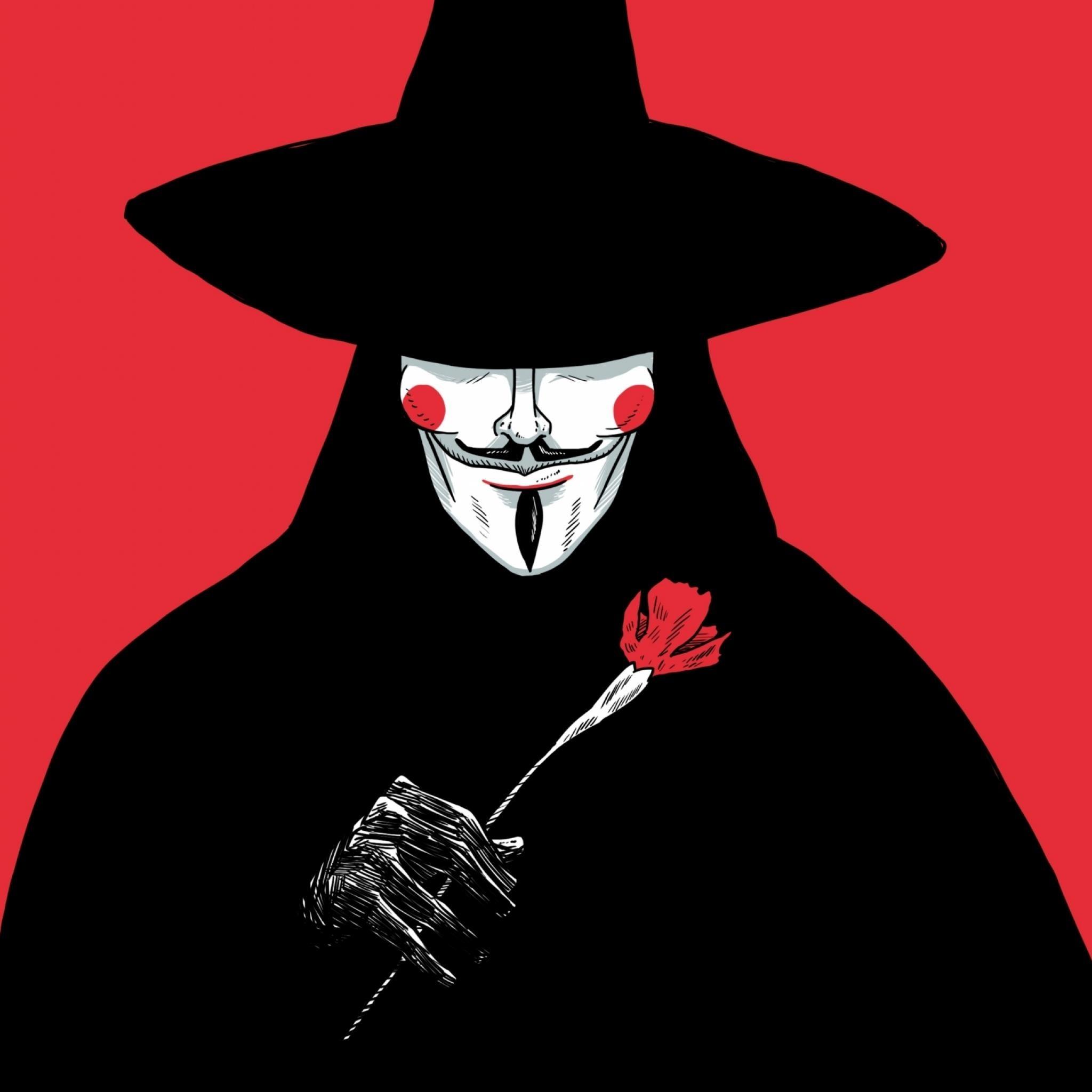 V For Vendetta iPad Wallpaper HD #iPad #wallpaper