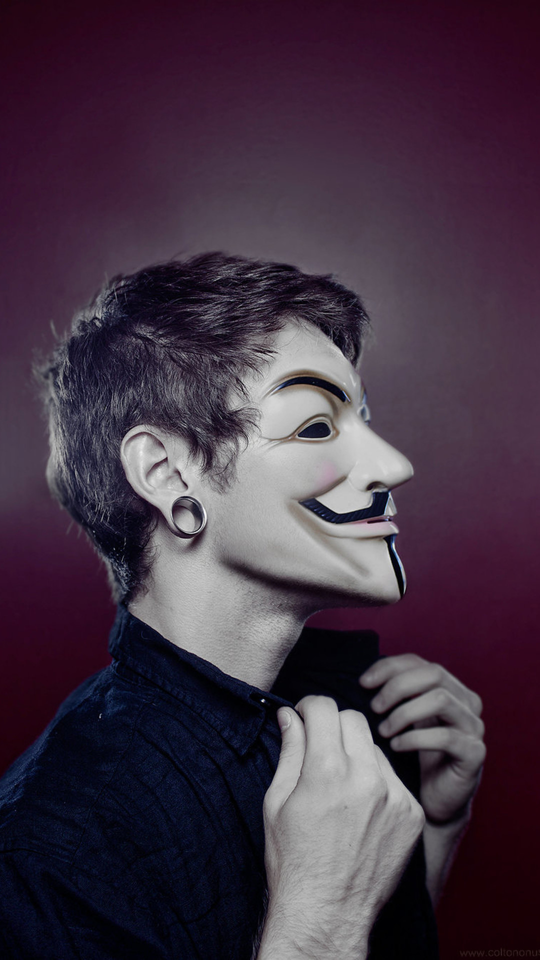 Description: V for Vendetta hd wallpaper free download.