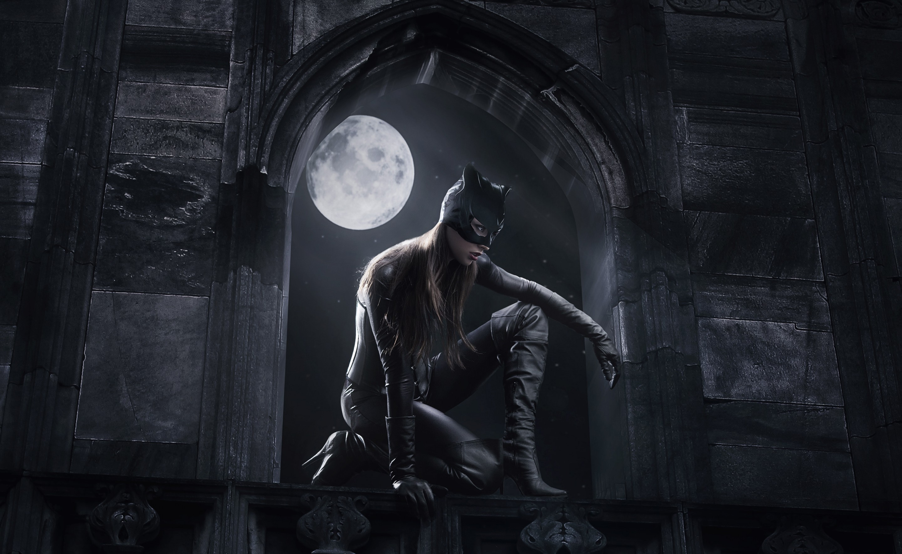 artwork, Fantasy Art, Catwoman Wallpapers HD / Desktop and Mobile  Backgrounds