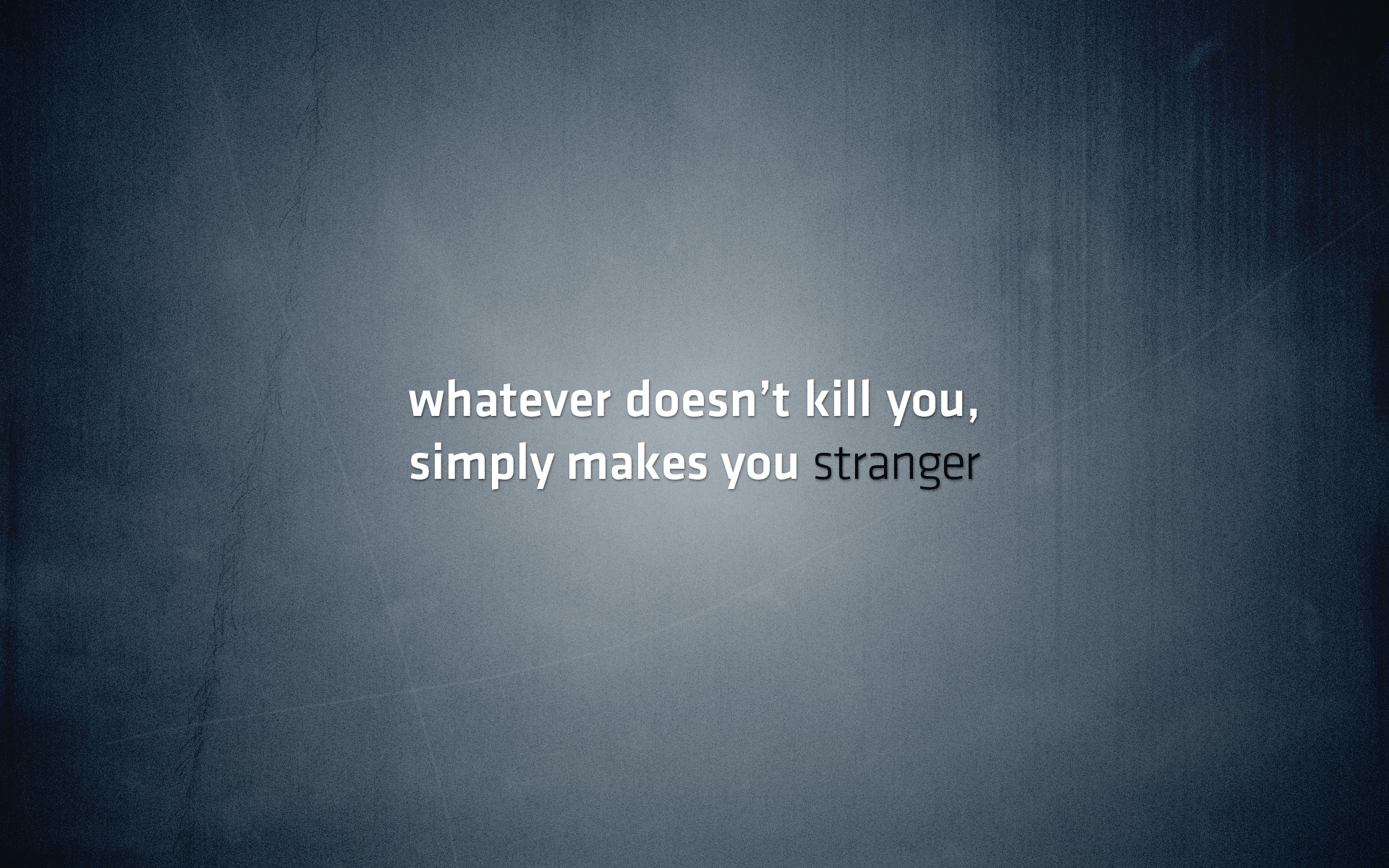 Batman Metallic Minimalistic Quotes Selective Coloring Simple Text The Joker  Typography What Doesnt Kill You