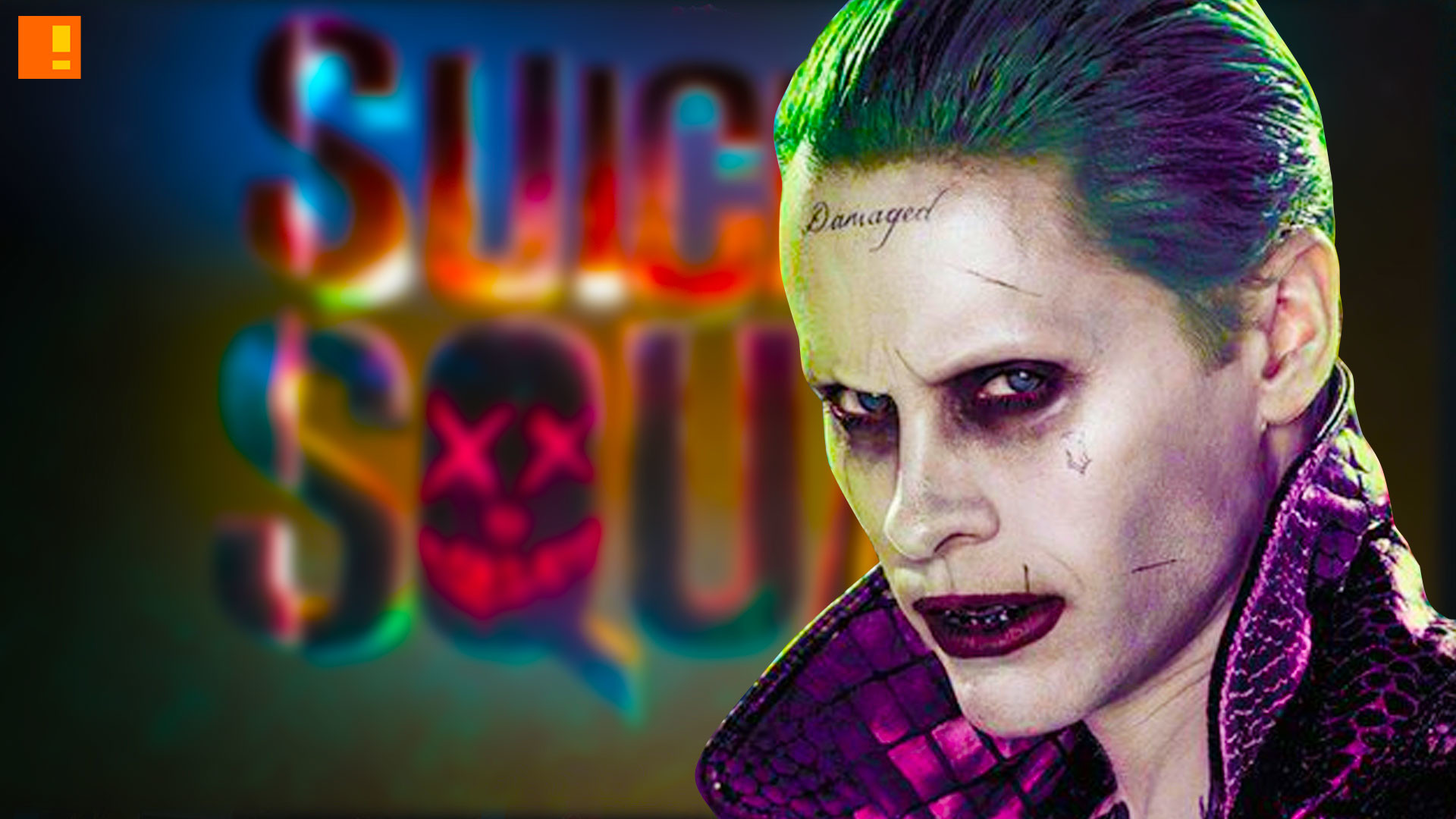 suicide squad, joker, banner, poster, entertainment on tap, the action pixel