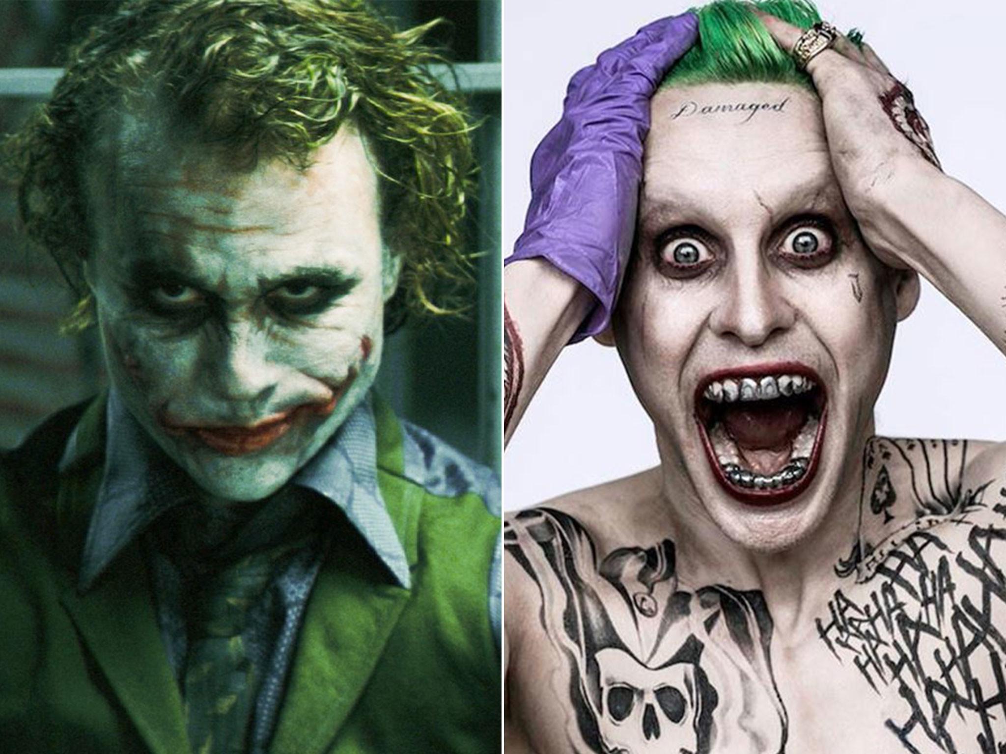Jared Leto as Joker: Suicide Squad trailer sparks comparisons with Heath  Ledger | The Independent