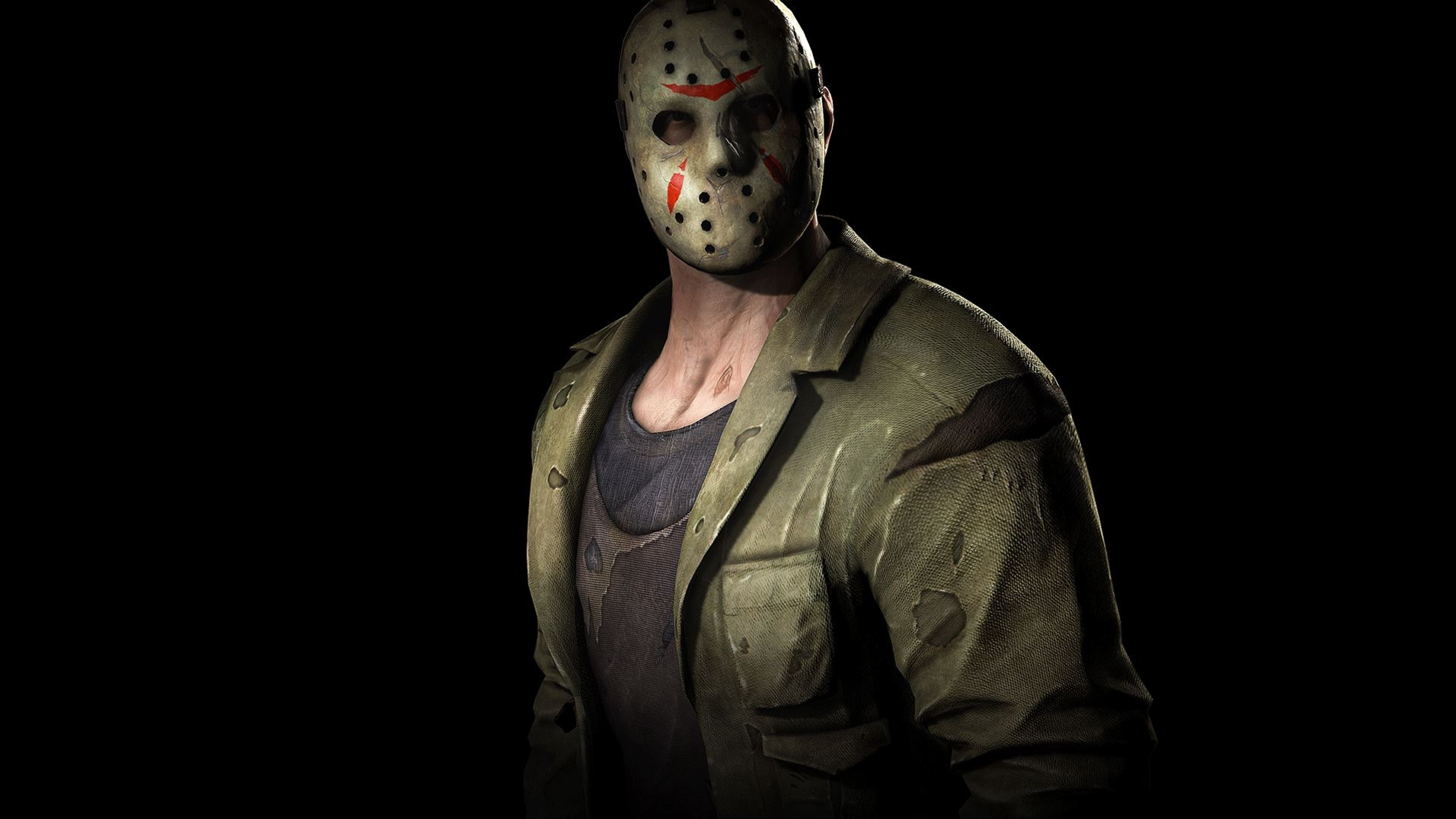 Preview wallpaper jason voorhees, friday the 13th, character 3840×2160