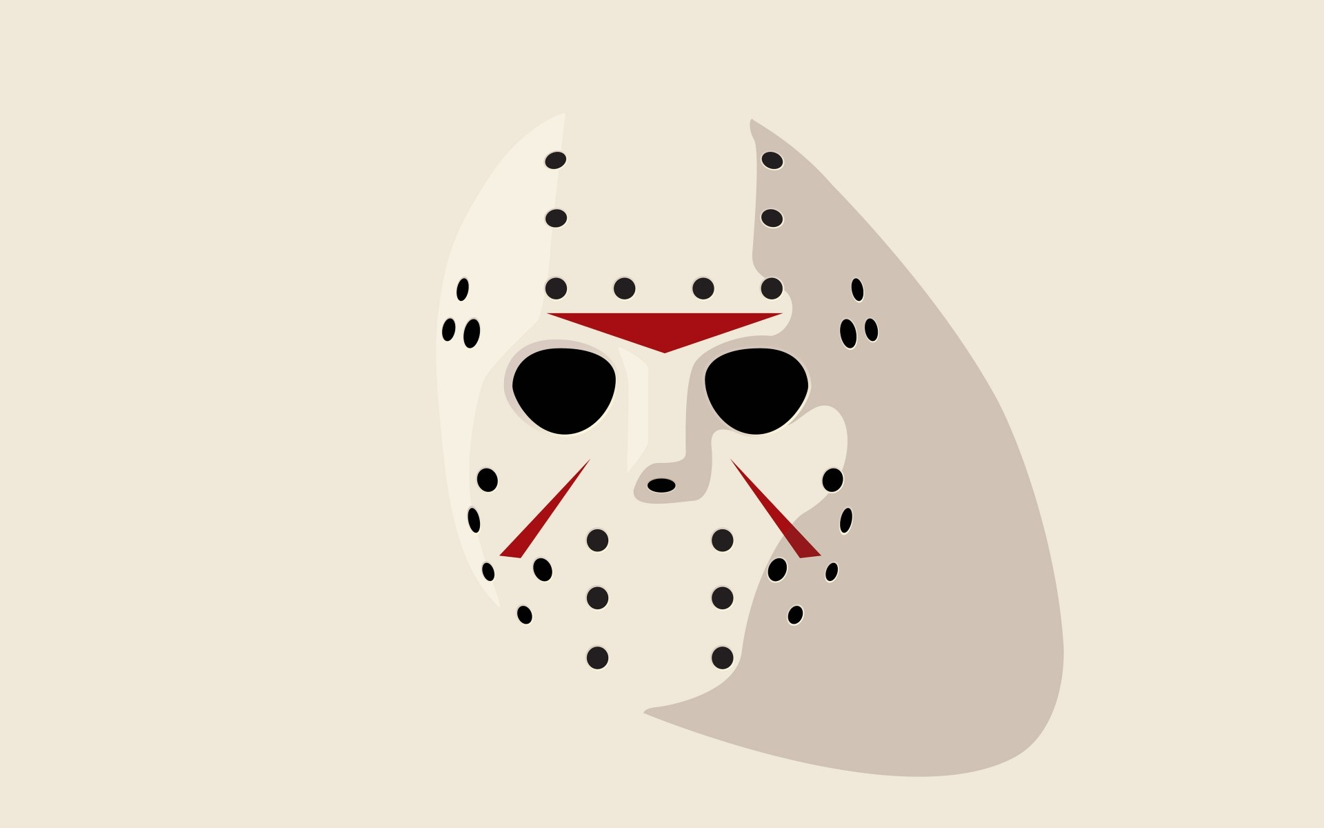 Wallpaper jason, friday 13th, hockey mask