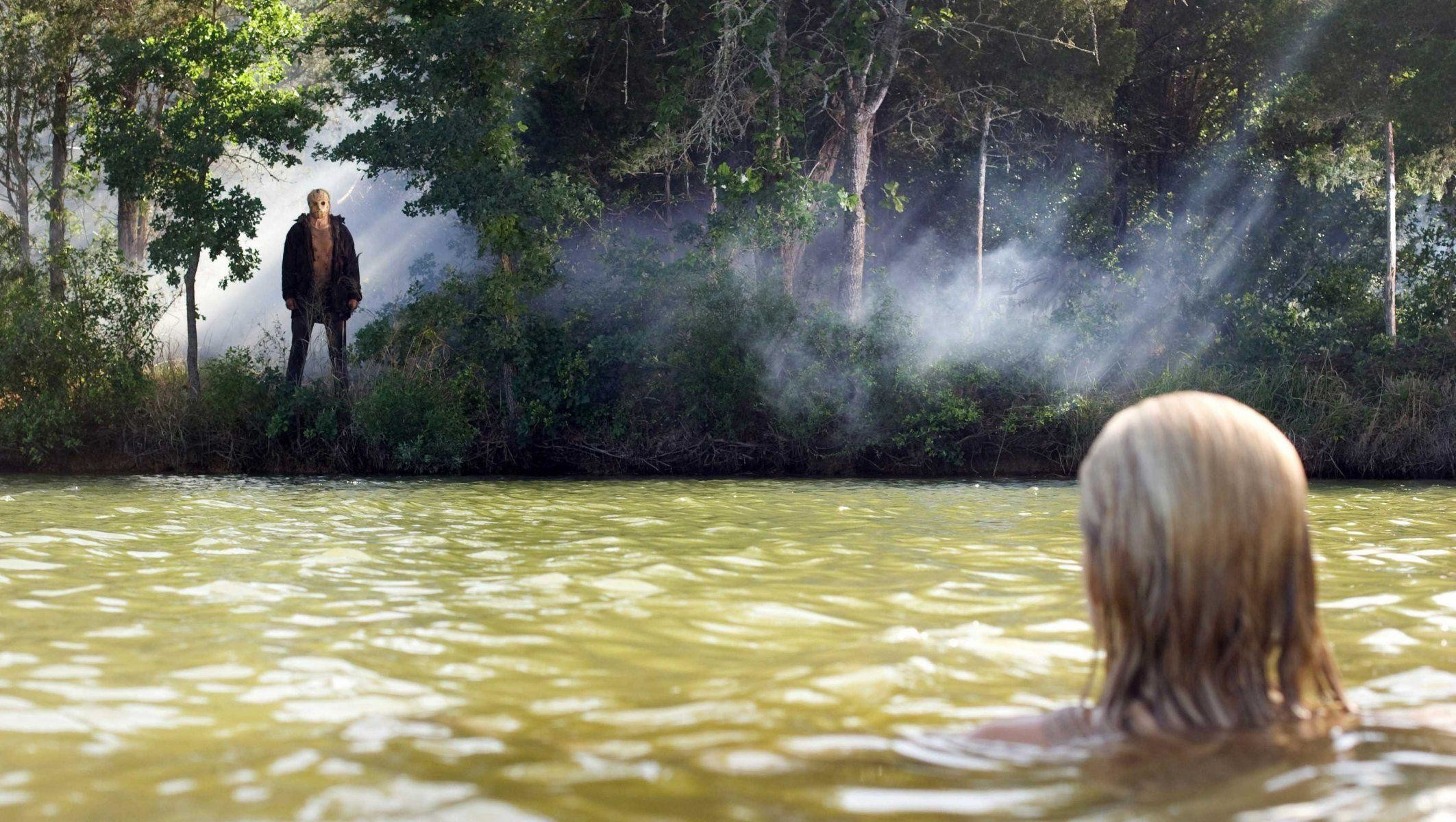 on friday 13 swimming friday the 13th jason voorhees HD wallpaper