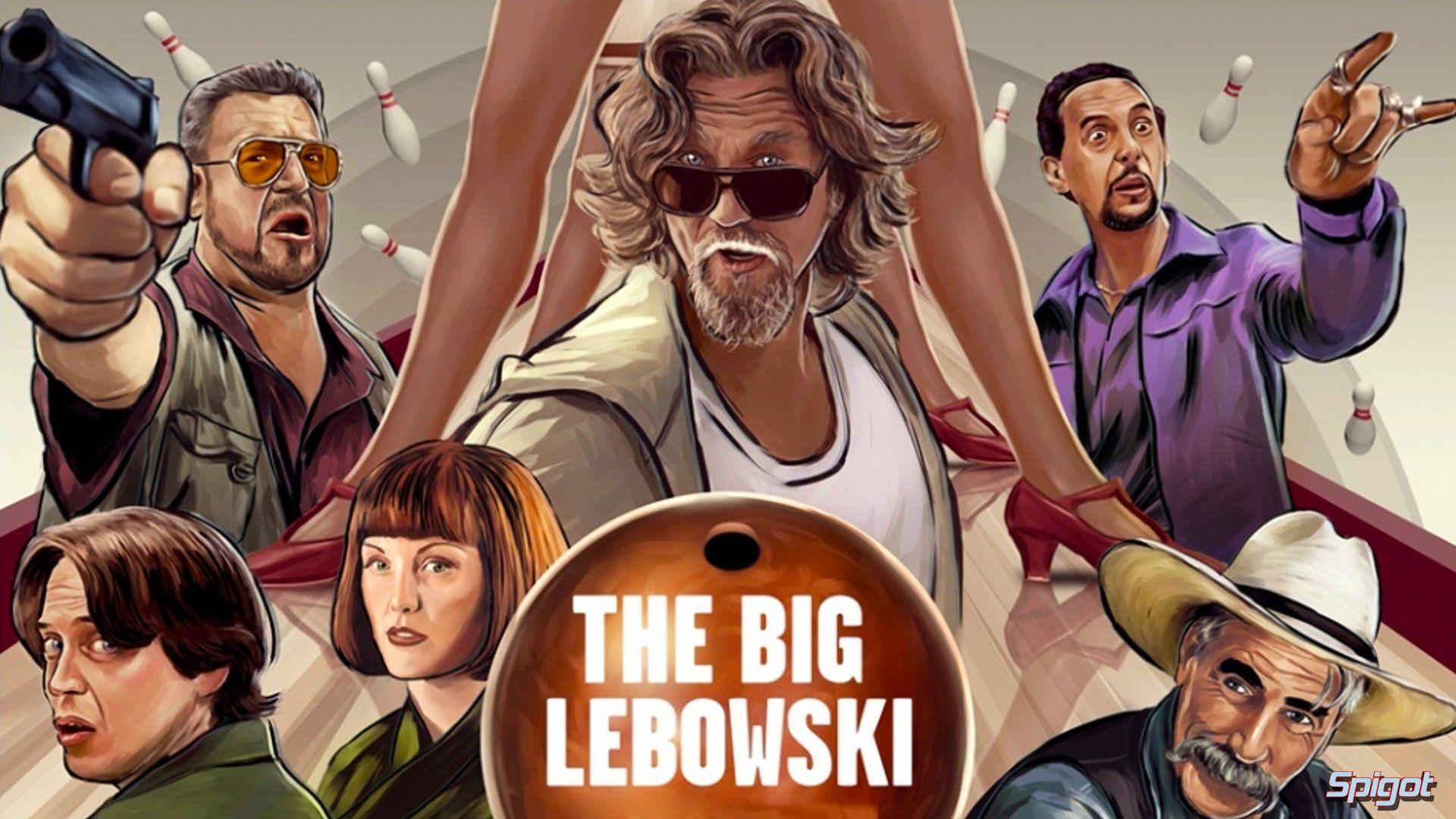 The big lebowski dude film wallpaper