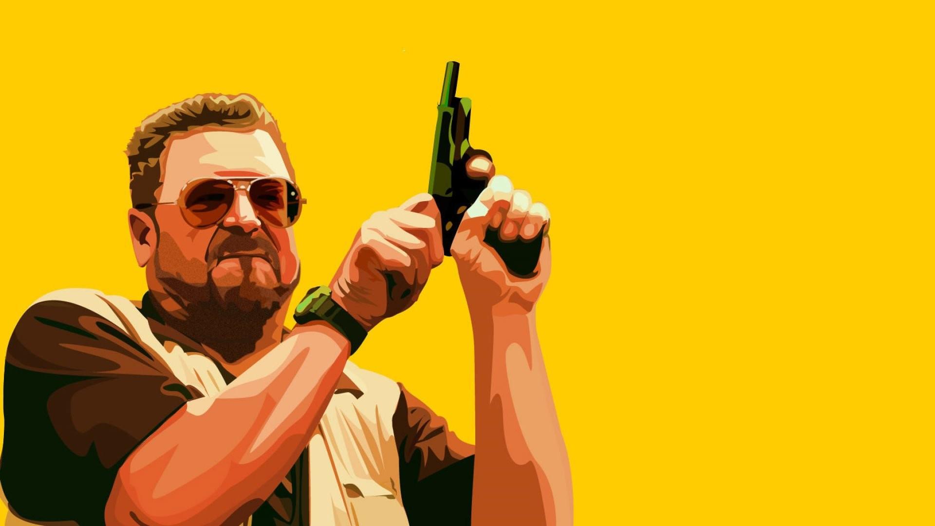 THE BIG LEBOWSKI comedy crime weapon gun pistol wallpaper      501086   WallpaperUP