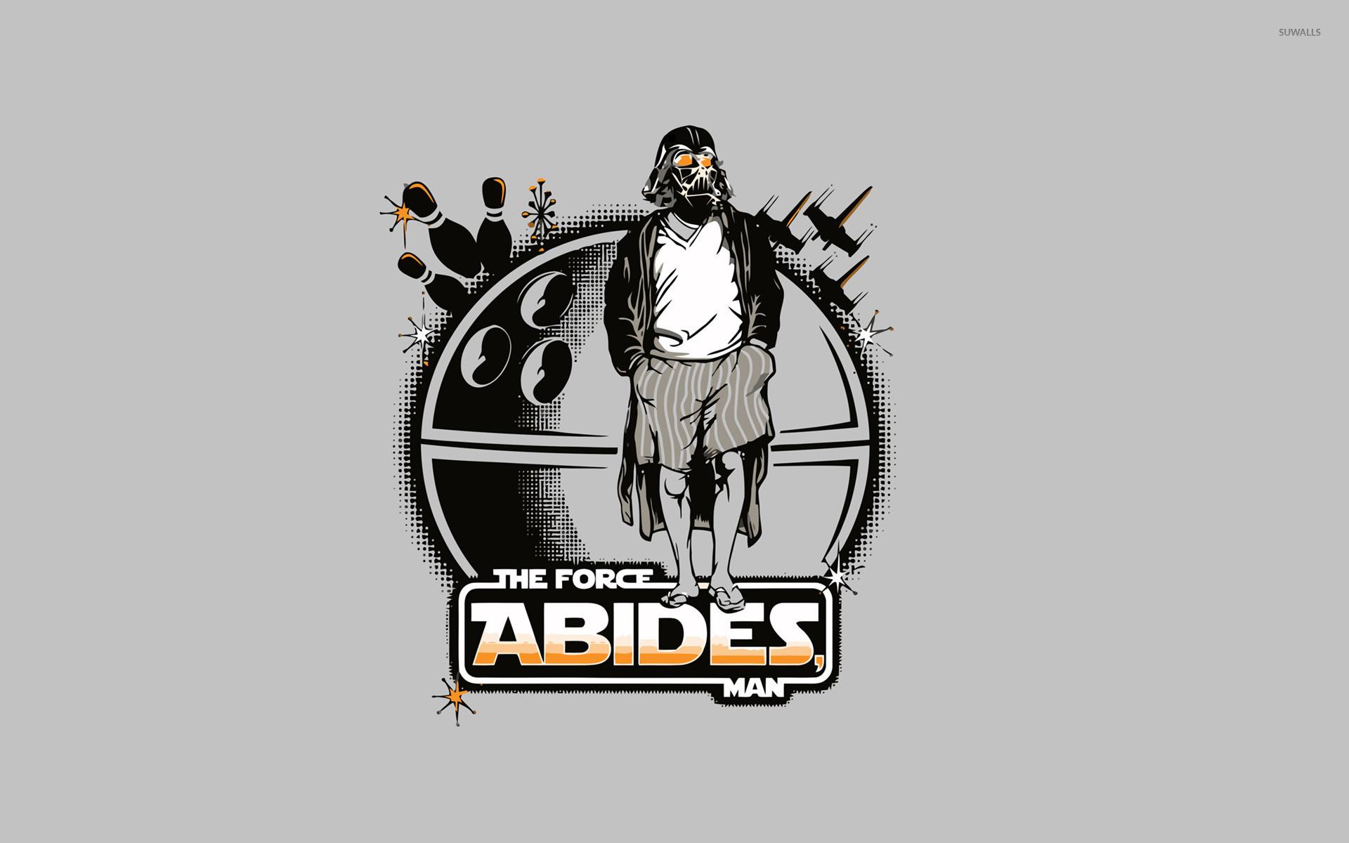 The Force Abides, Man wallpaper jpg