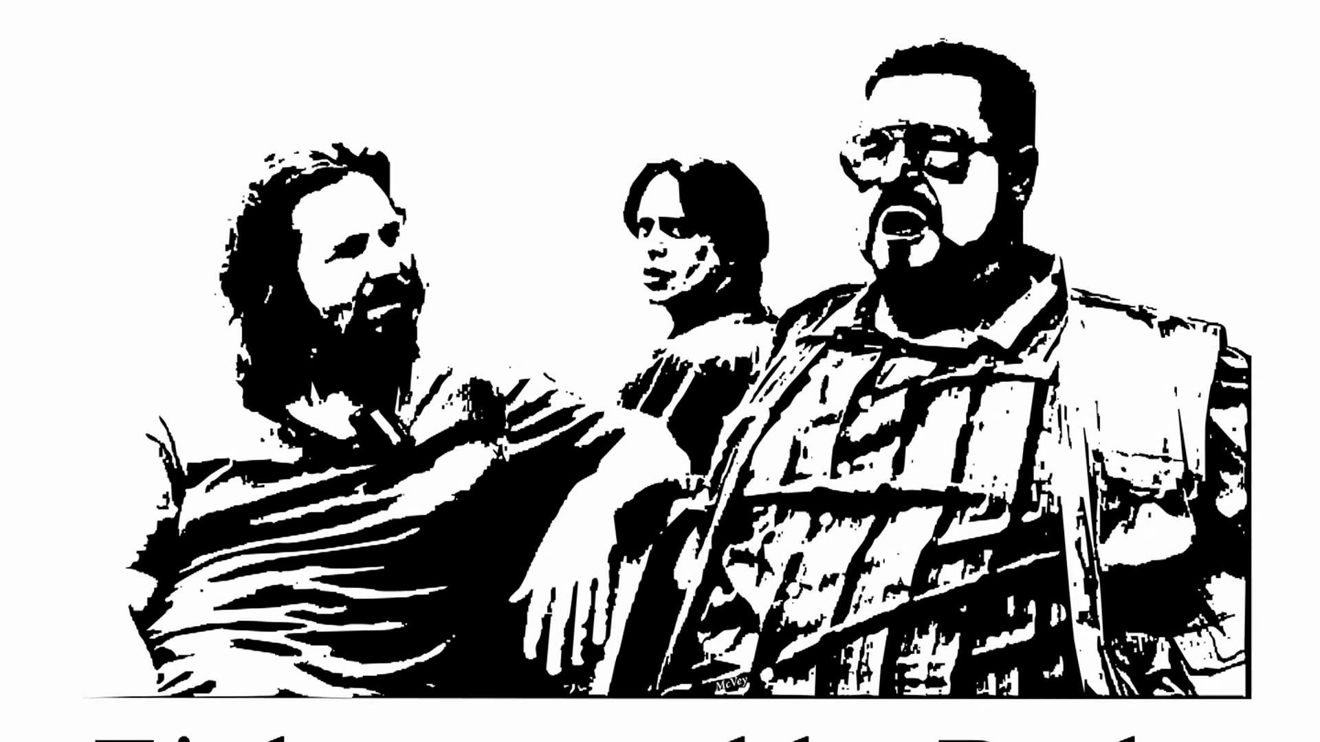 """""""Dust in the Wind"""" Remix with Walter & The Dude – The Big Lebowski  [Skiffleboom.com]"""