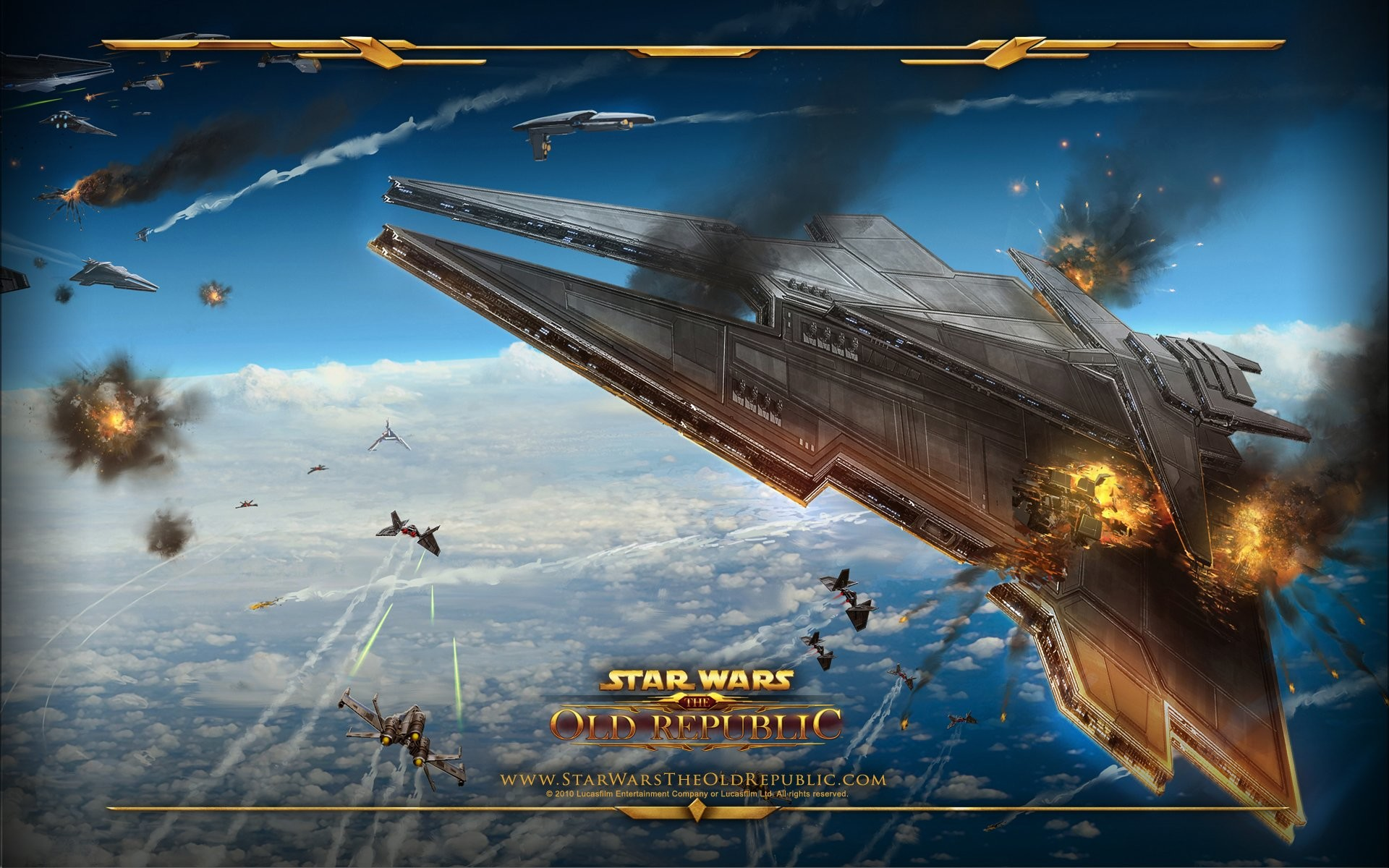 HD Wallpaper | Background ID:320049. Video Game Star Wars: …