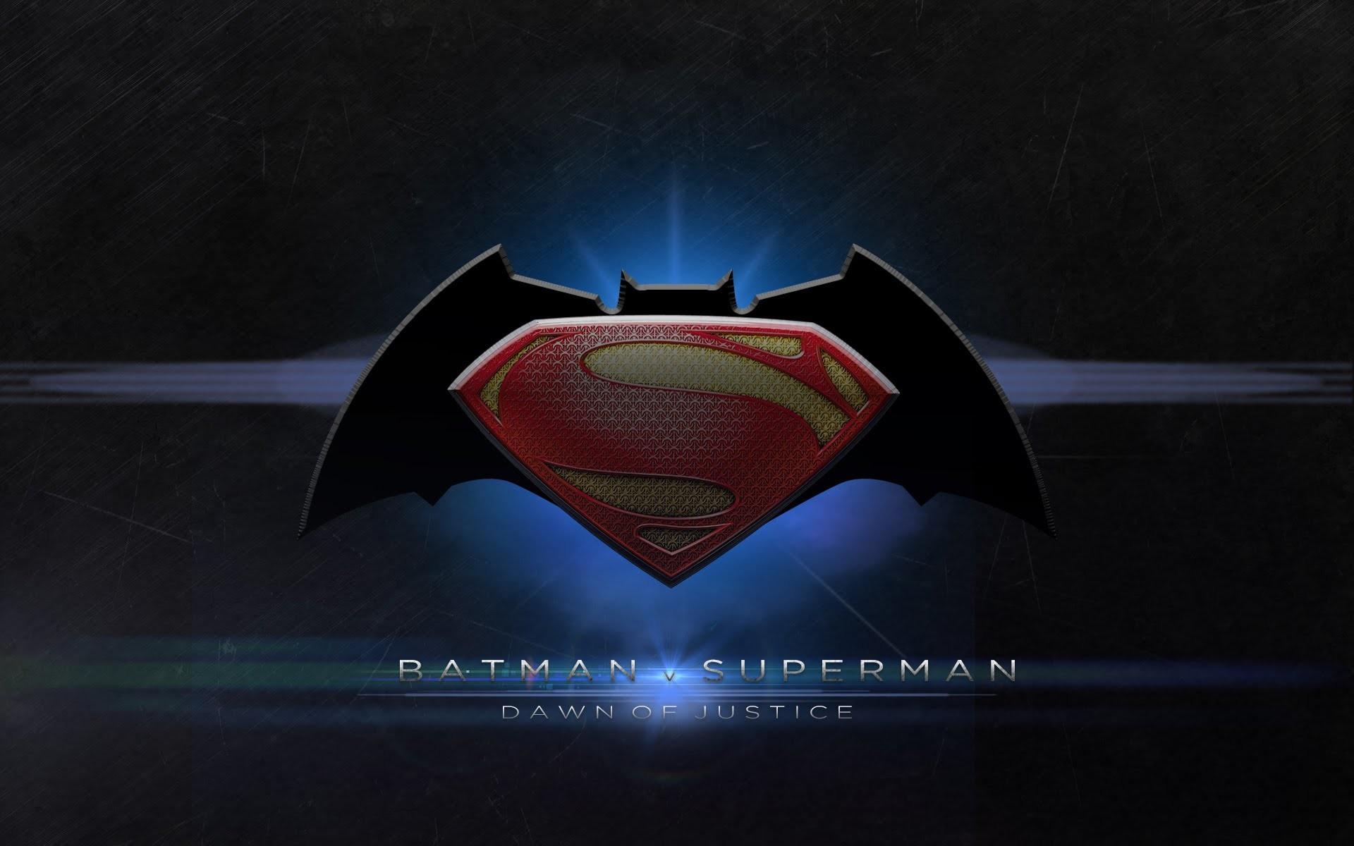 Movie – Batman v Superman: Dawn of Justice Logo Symbol Batman Superman  Movie Wallpaper