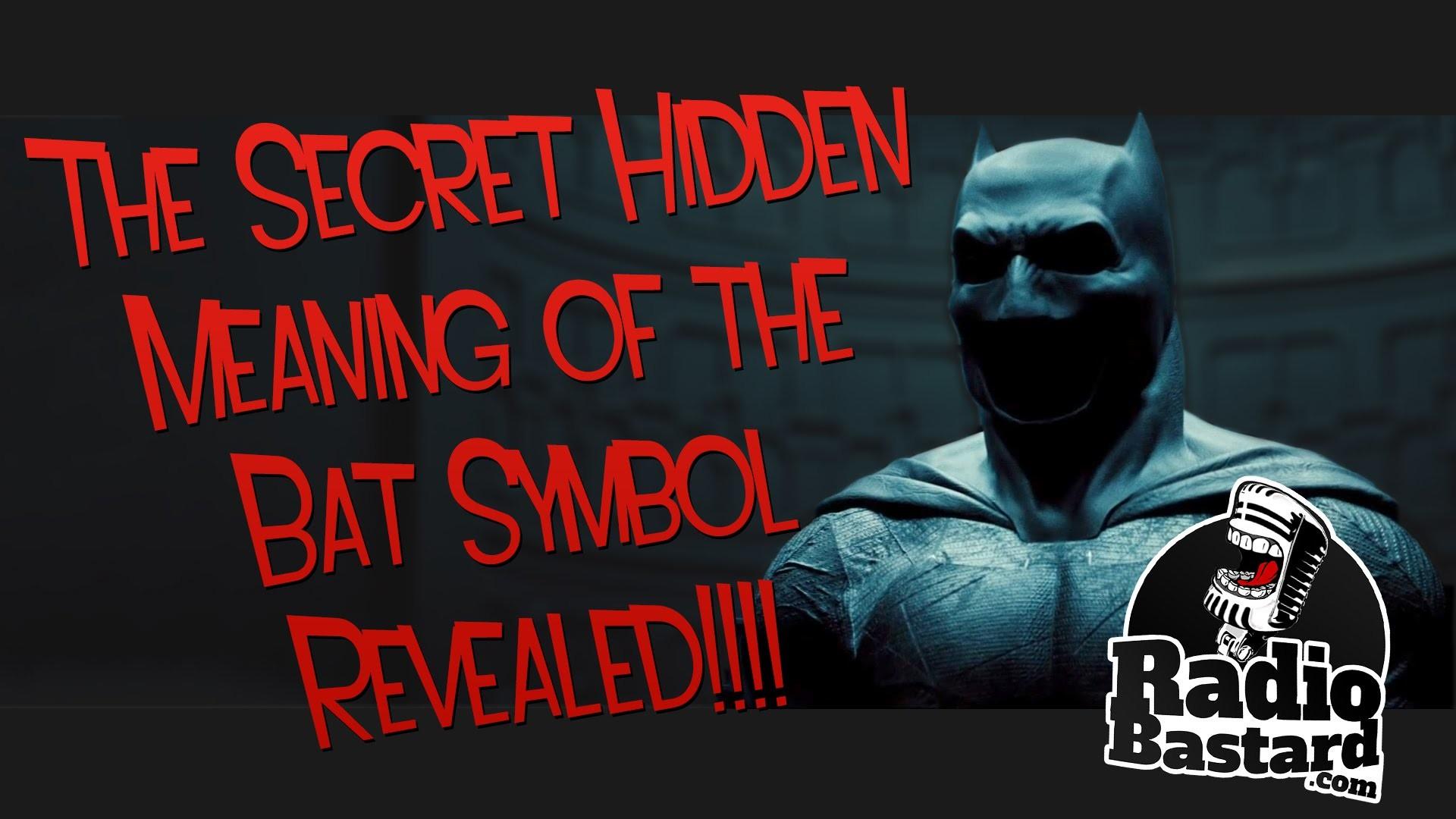 Batman v Superman : The Secret Hidden Meaning of the Bat Symbol Revealed!!!  – YouTube
