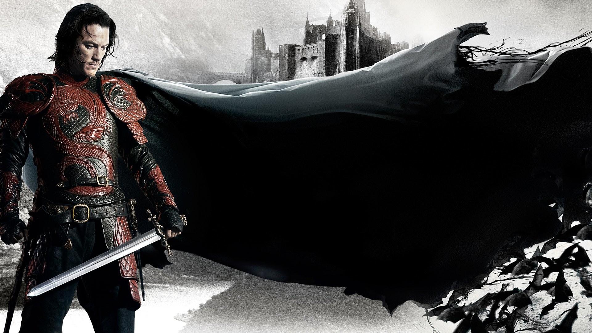 DRACULA UNTOLD drama fantasy dark vampire horror wallpaper background